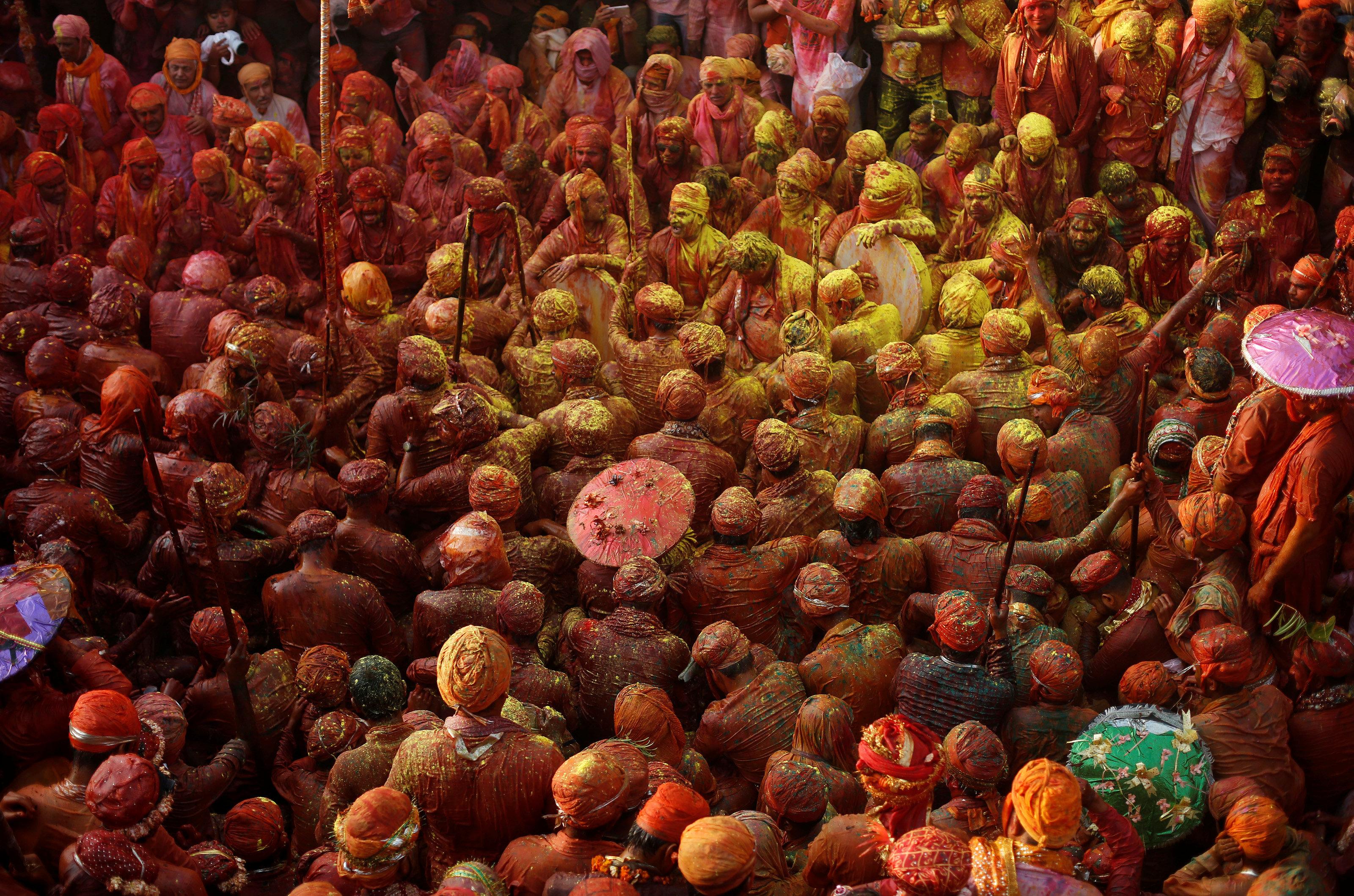 Cada región de la India tiene ritos con algunas particularidades
