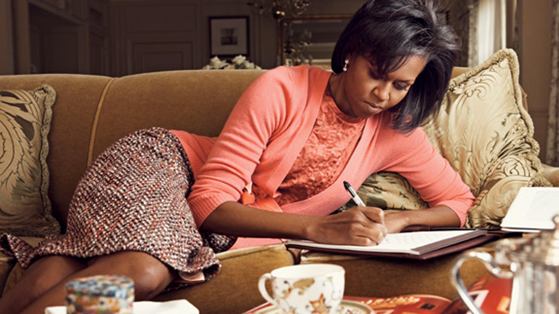 Michelle Obama (Foto: Vogue)