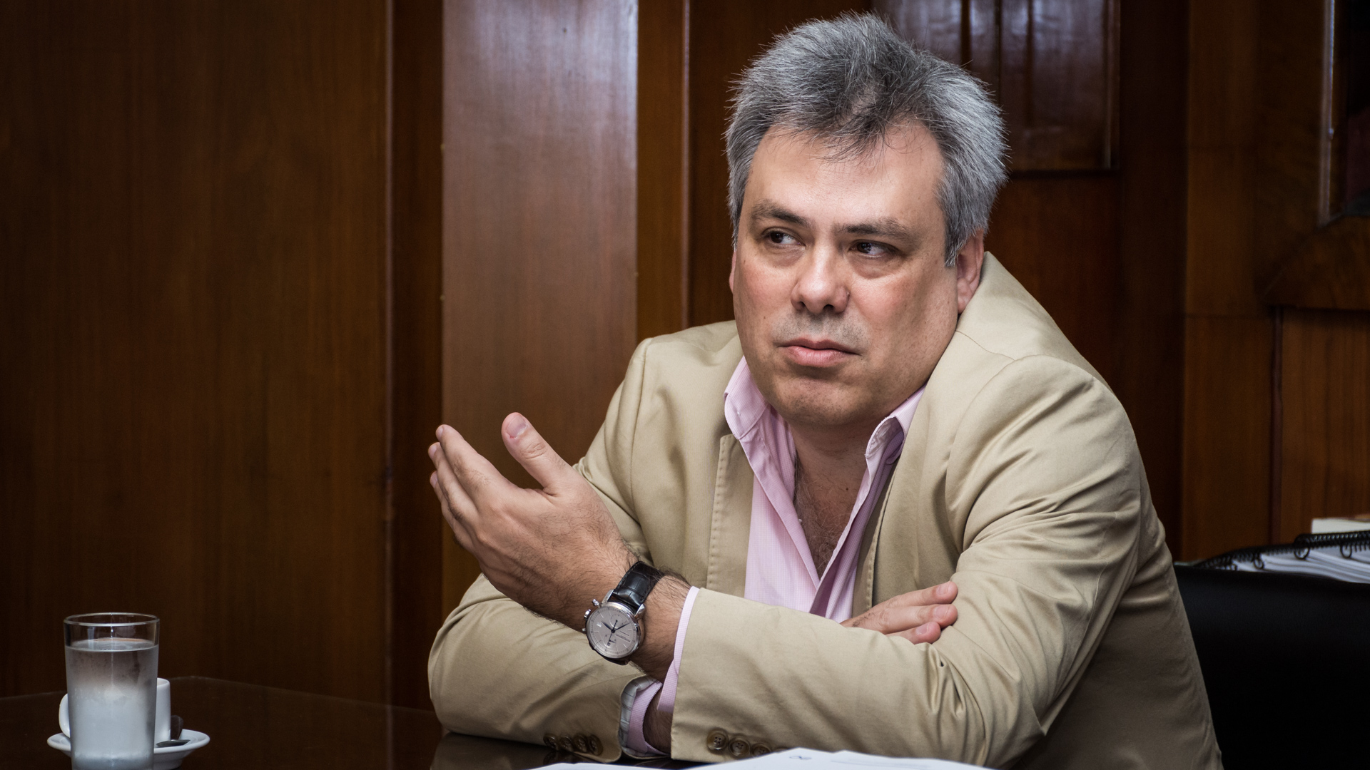 El viceministro de Hacienda de la Nación, Sebastián Galiani (Foto: Martín Rosenzveig)