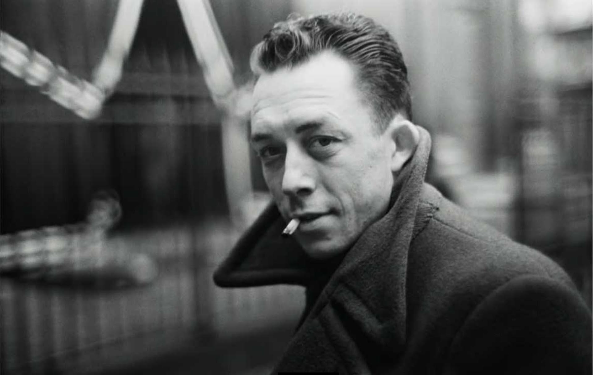 Albert Camus, a lo Bogart