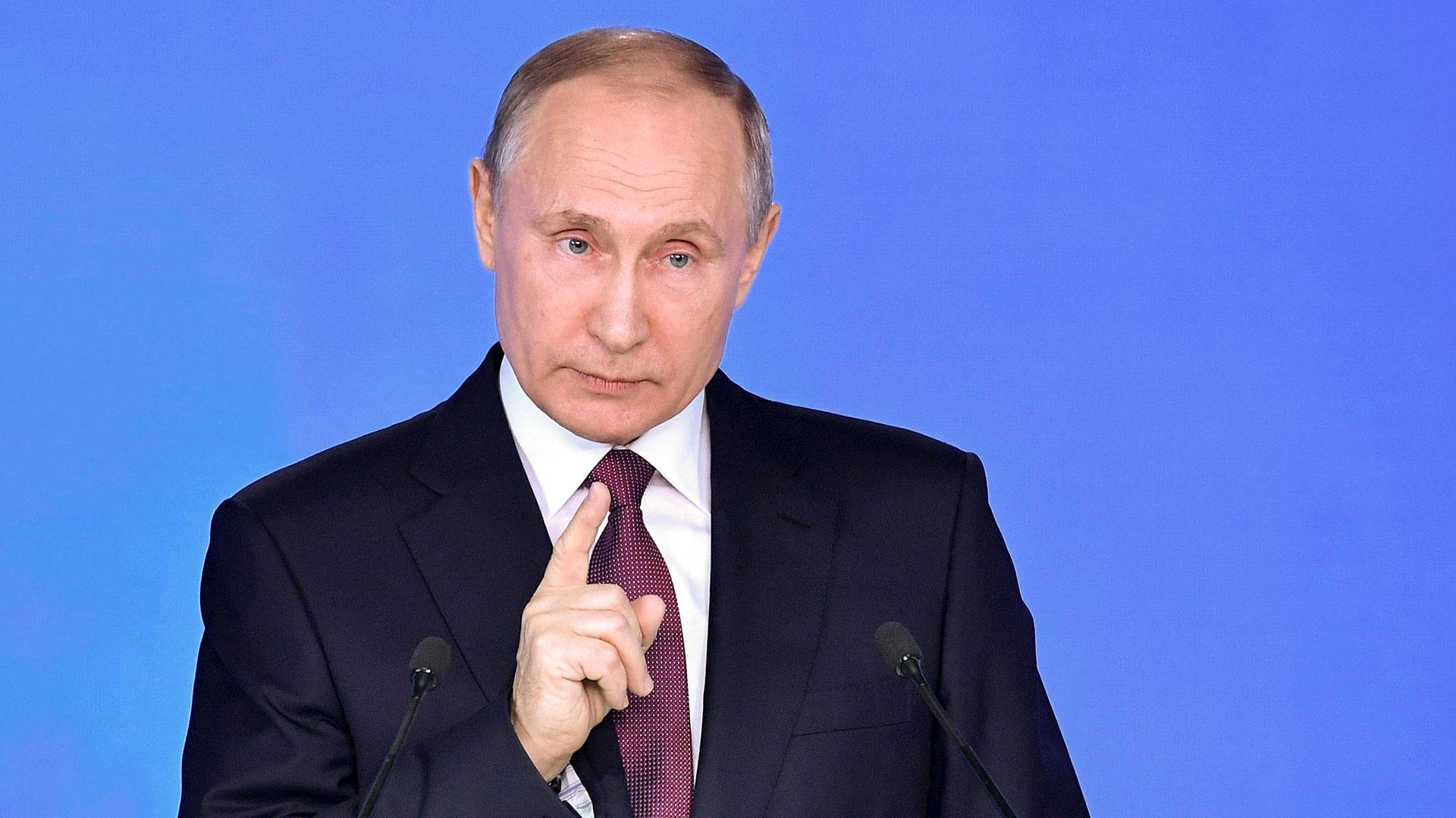 Vladimir Putin, principal aliado del dictador Bashar al Assad (AP)