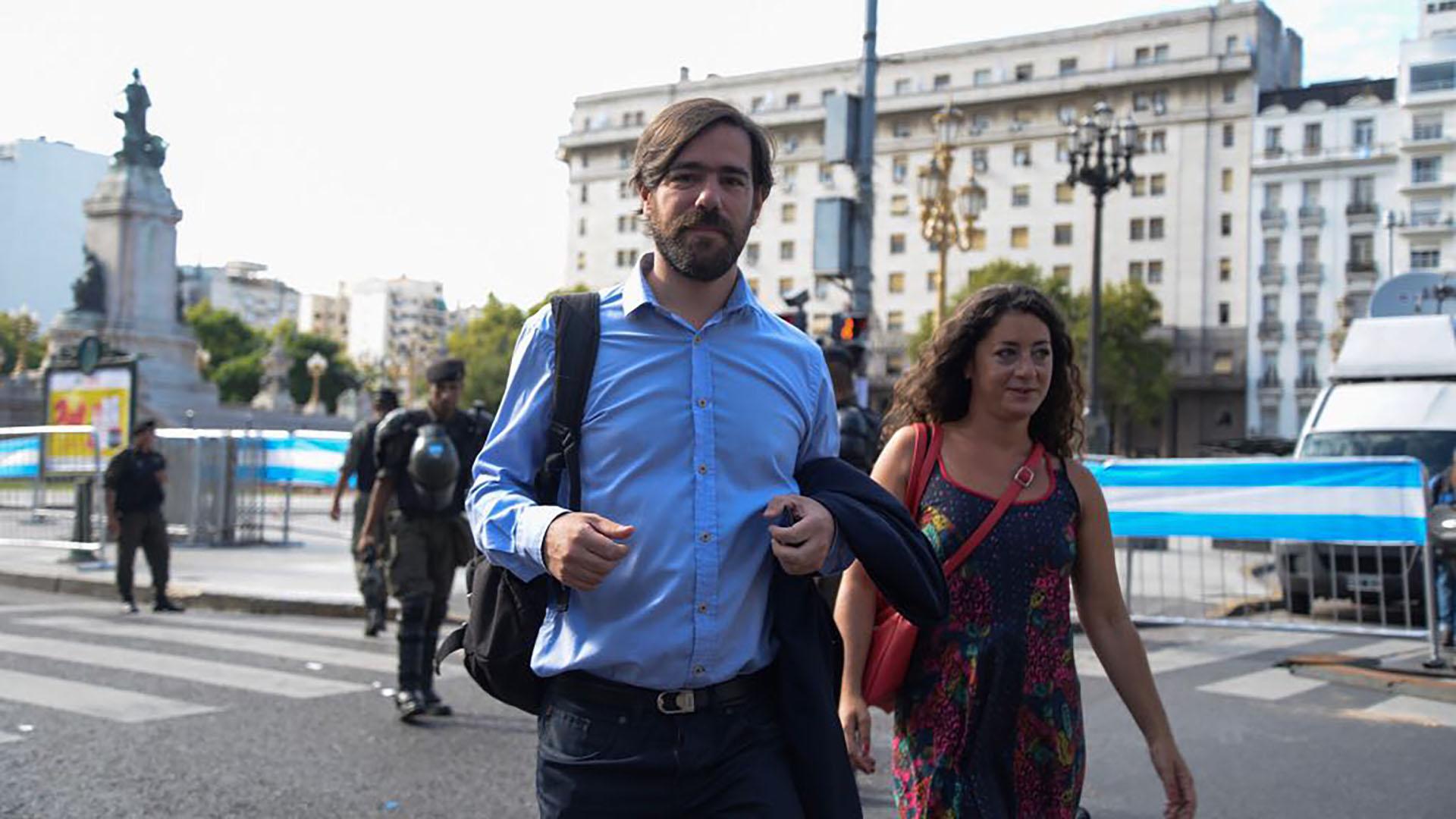 El diputado del FIT Nicolás Del Caño