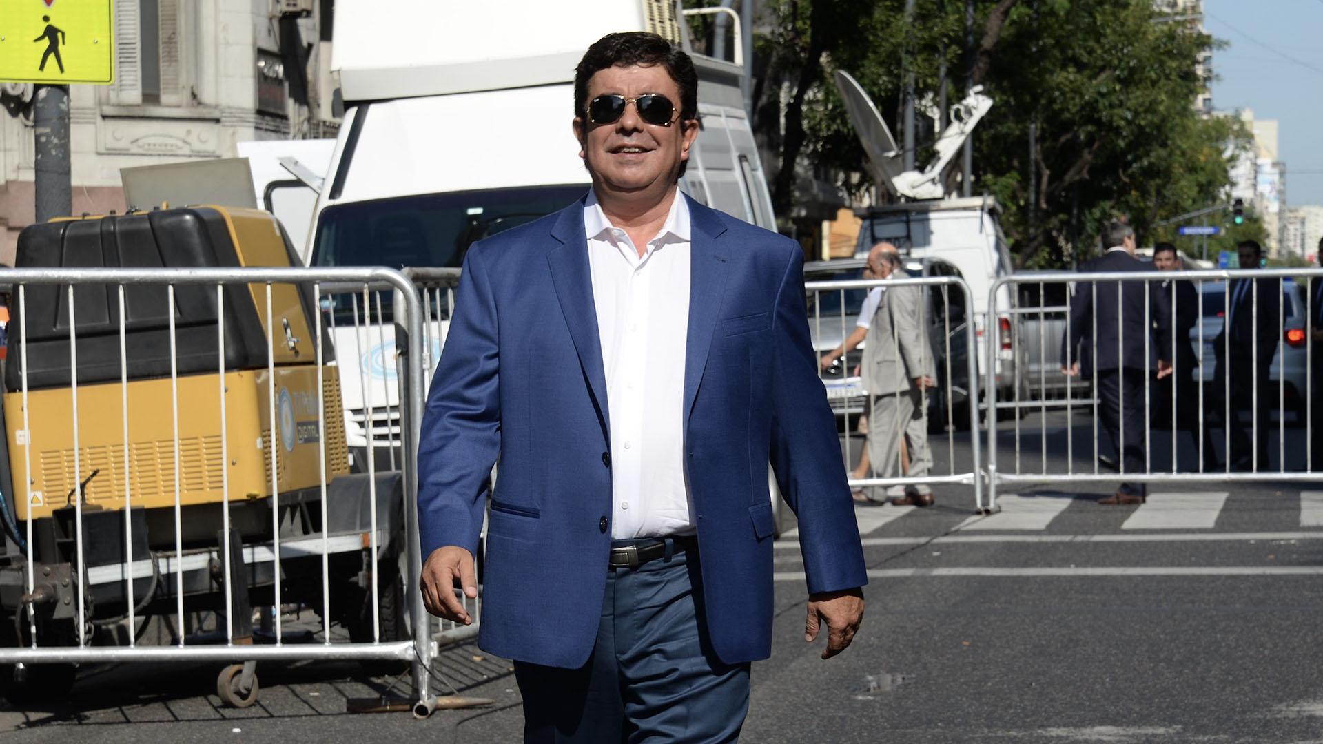 El diputado Nacional por la Provincia de Buenos Aires y ex intendente de La Matanza, Fernando Espinoza