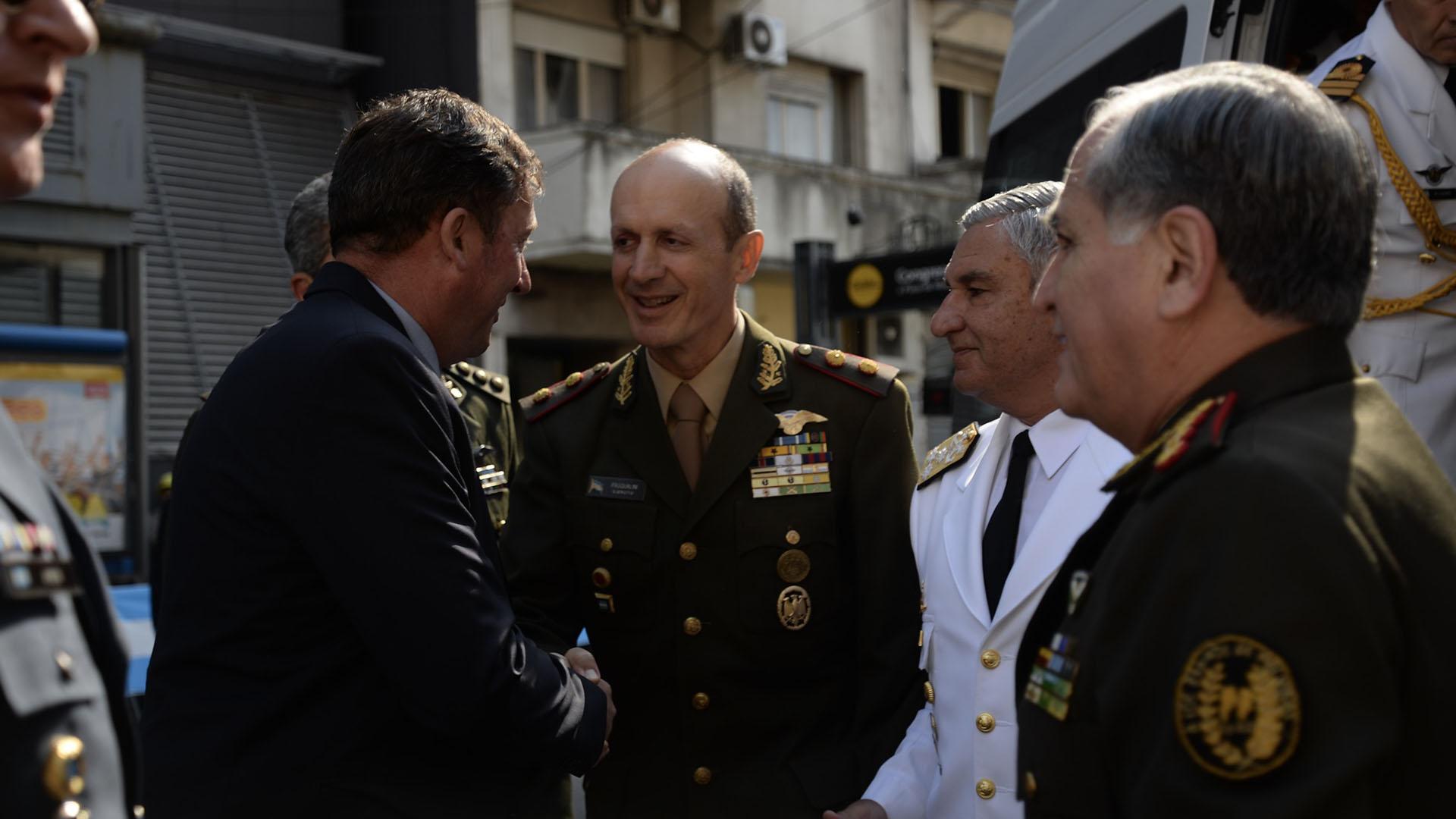 El jefe del Ejército Claudio Pasqualini