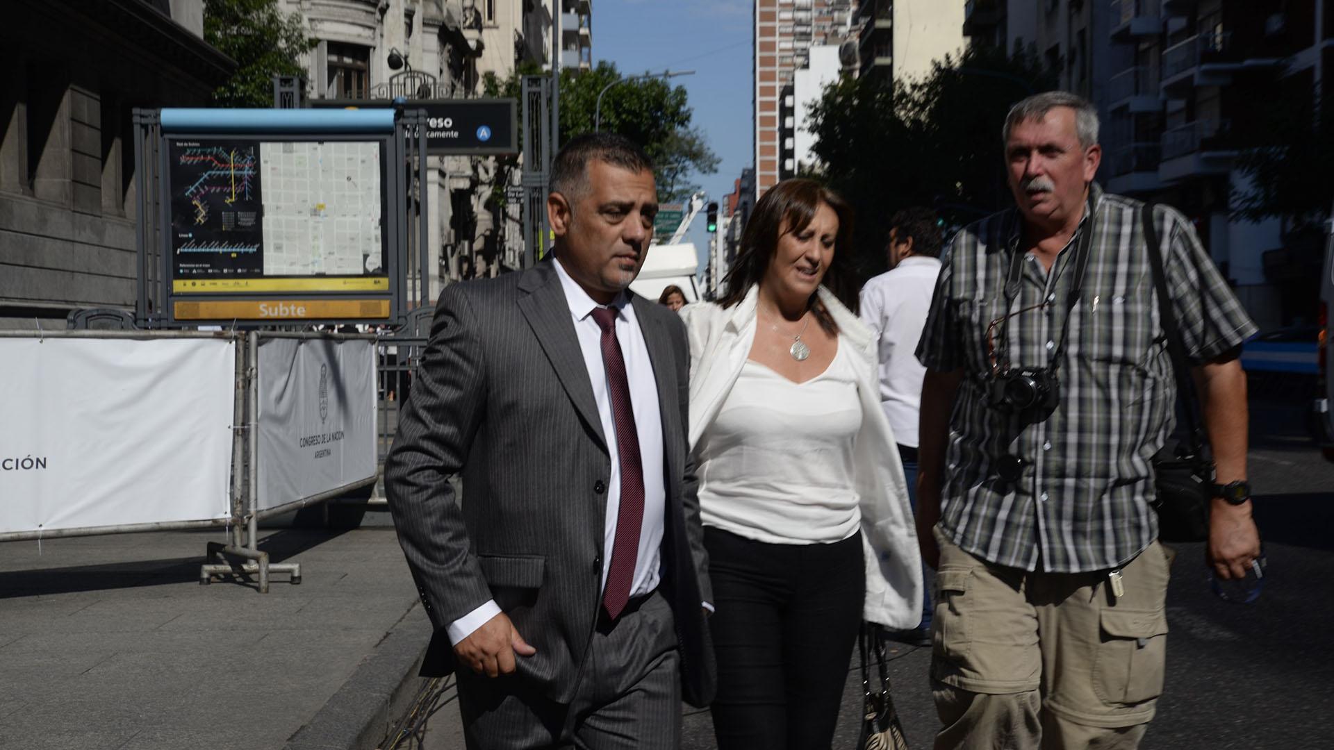 La legisladora Mirta Tundis
