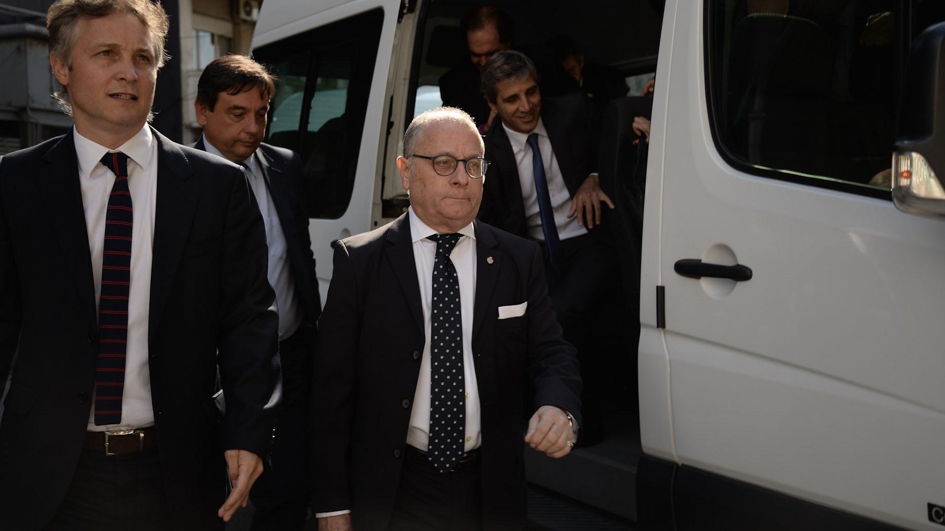 El ministro de Relaciones Exteriores Jorge Faurie