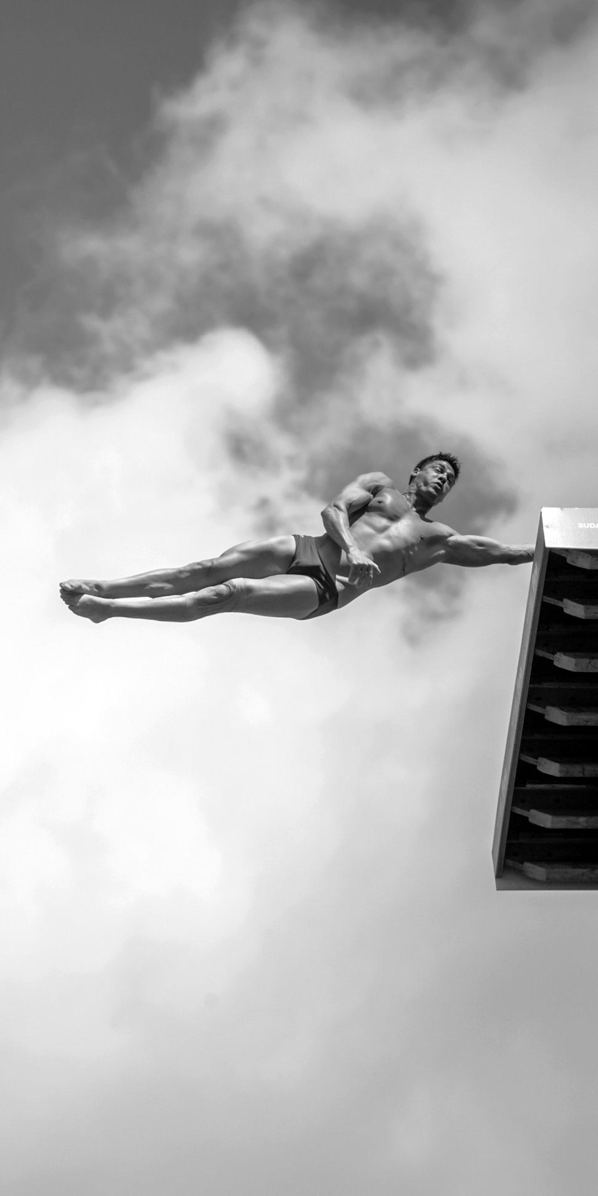 """Competencia """"Profesional"""" – Categoría """"Deportes"""": la competición de alto nivel en el 17º Campeonato del Mundo de FINA. (Gentileza Sony World Photography Awards)"""