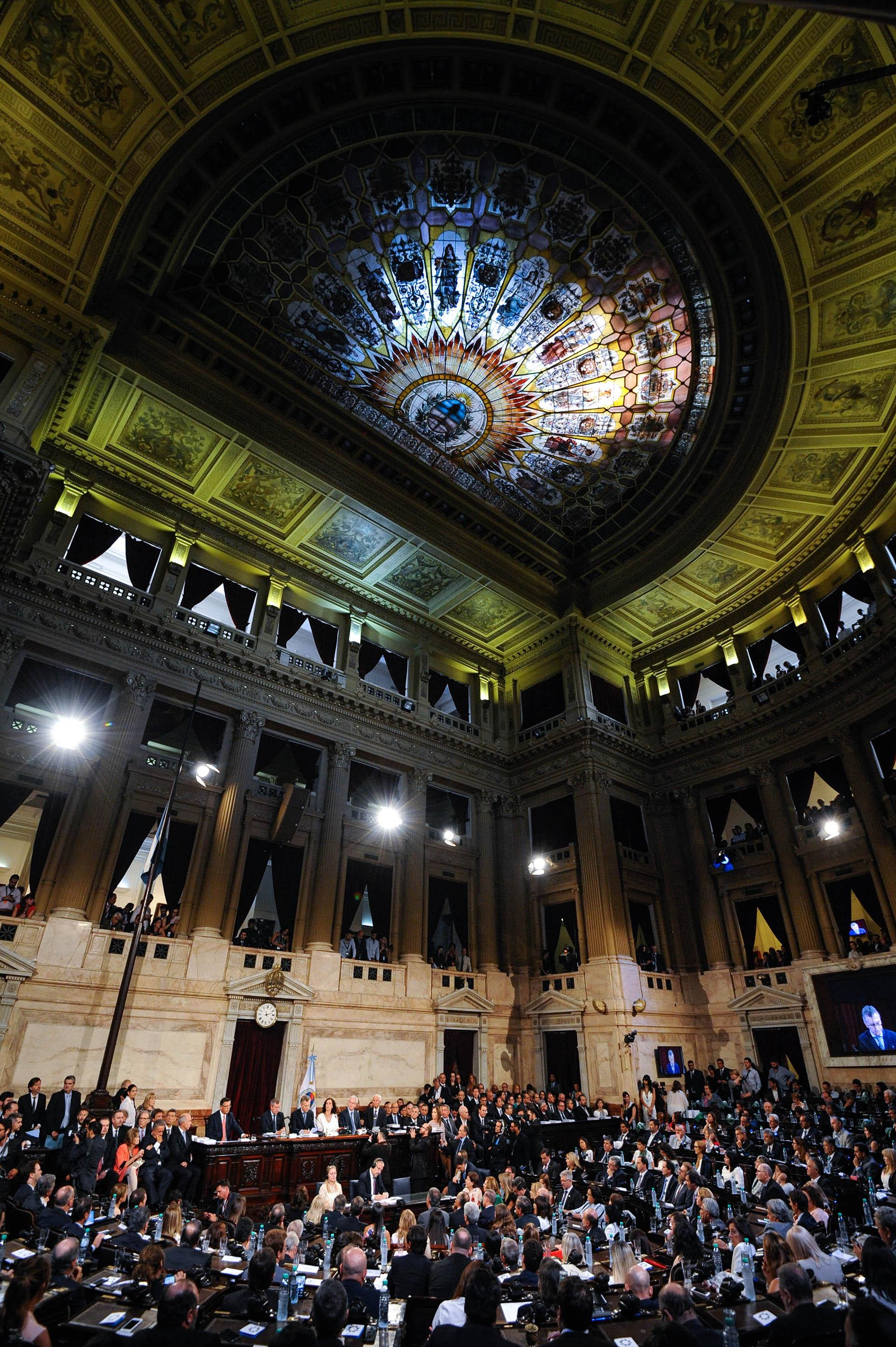 La Cámara de Diputados en todo su esplendor