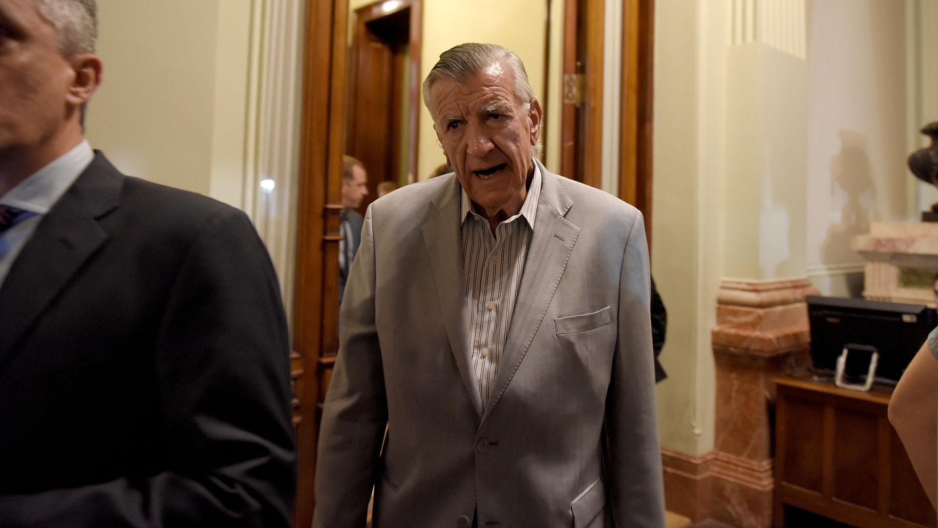 El diputado justicialista, José Luis Gioja