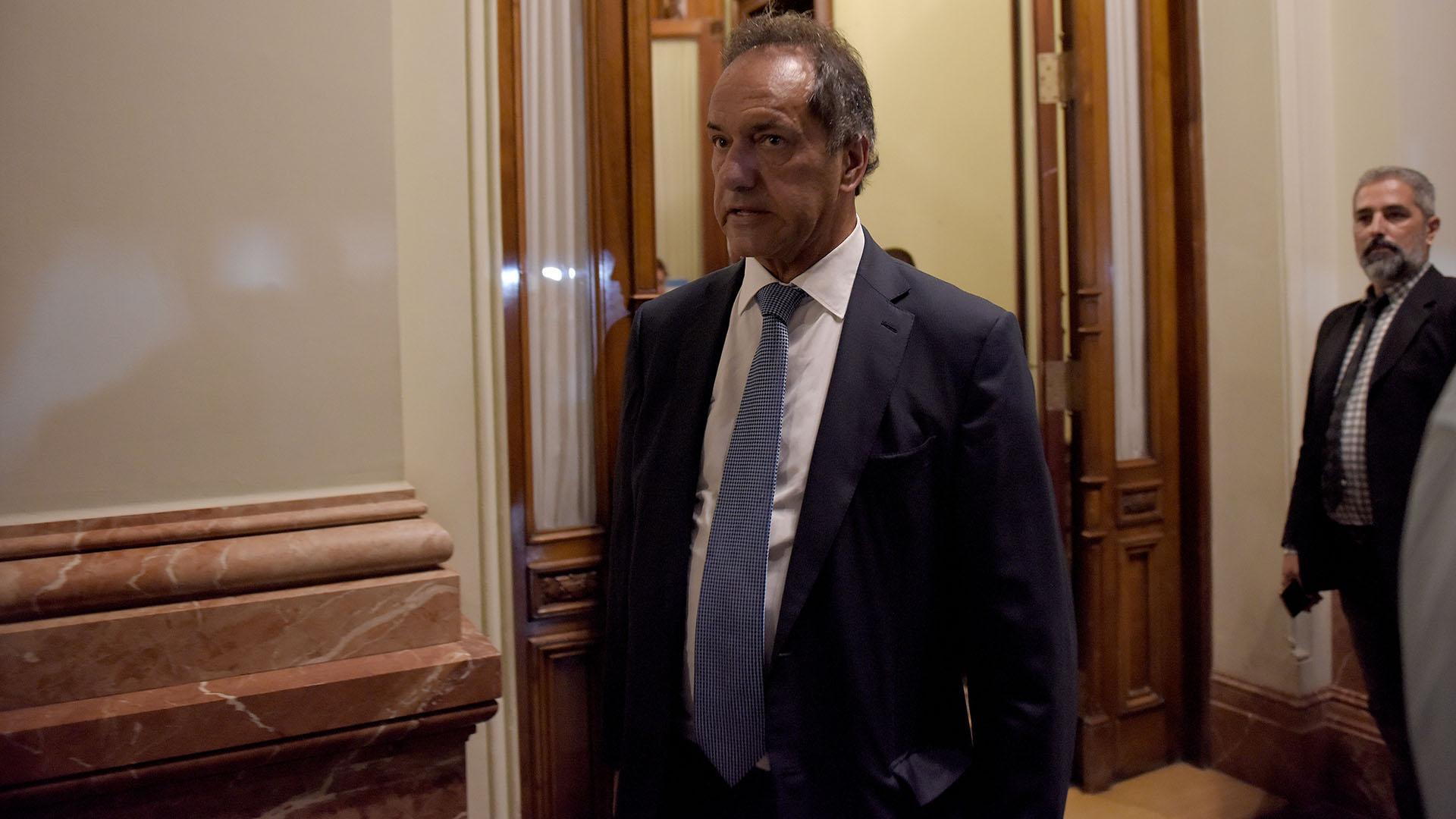 El diputado Daniel Scioli (Frente para la Victoria – PJ)