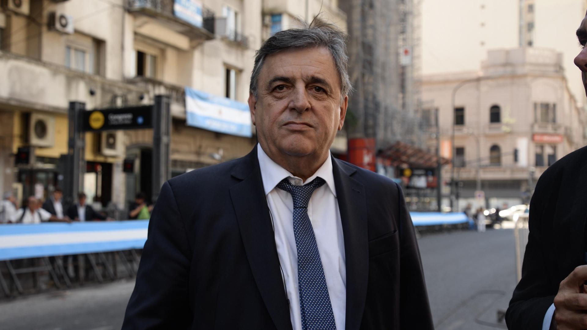 El diputado nacional y jefe del interbloque Cambiemos, Mario Negri