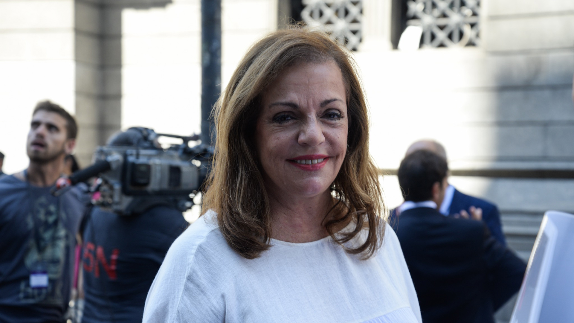 La diputada nacional y ex ministra de Defensa, Nilda Garré