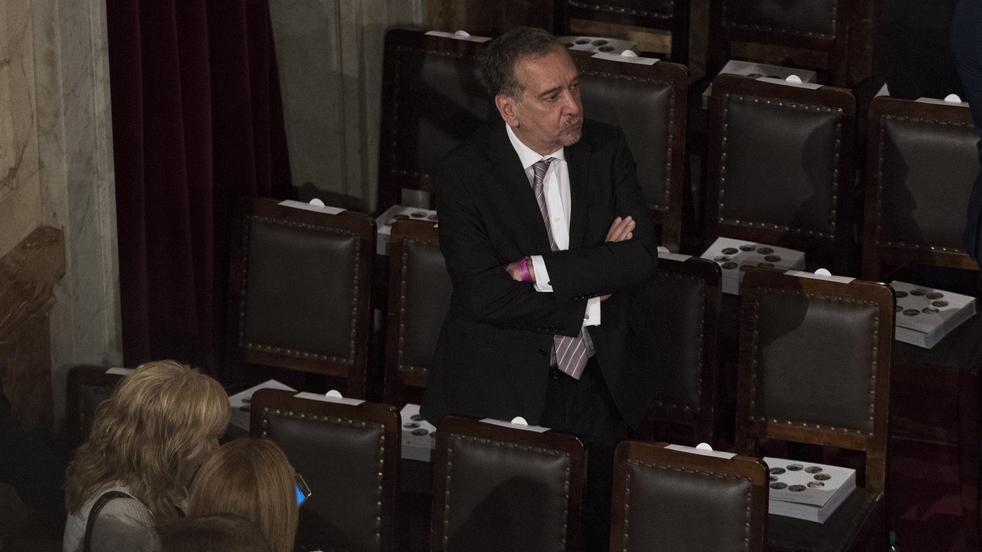 El ministro de Tecnología Lino Barañao