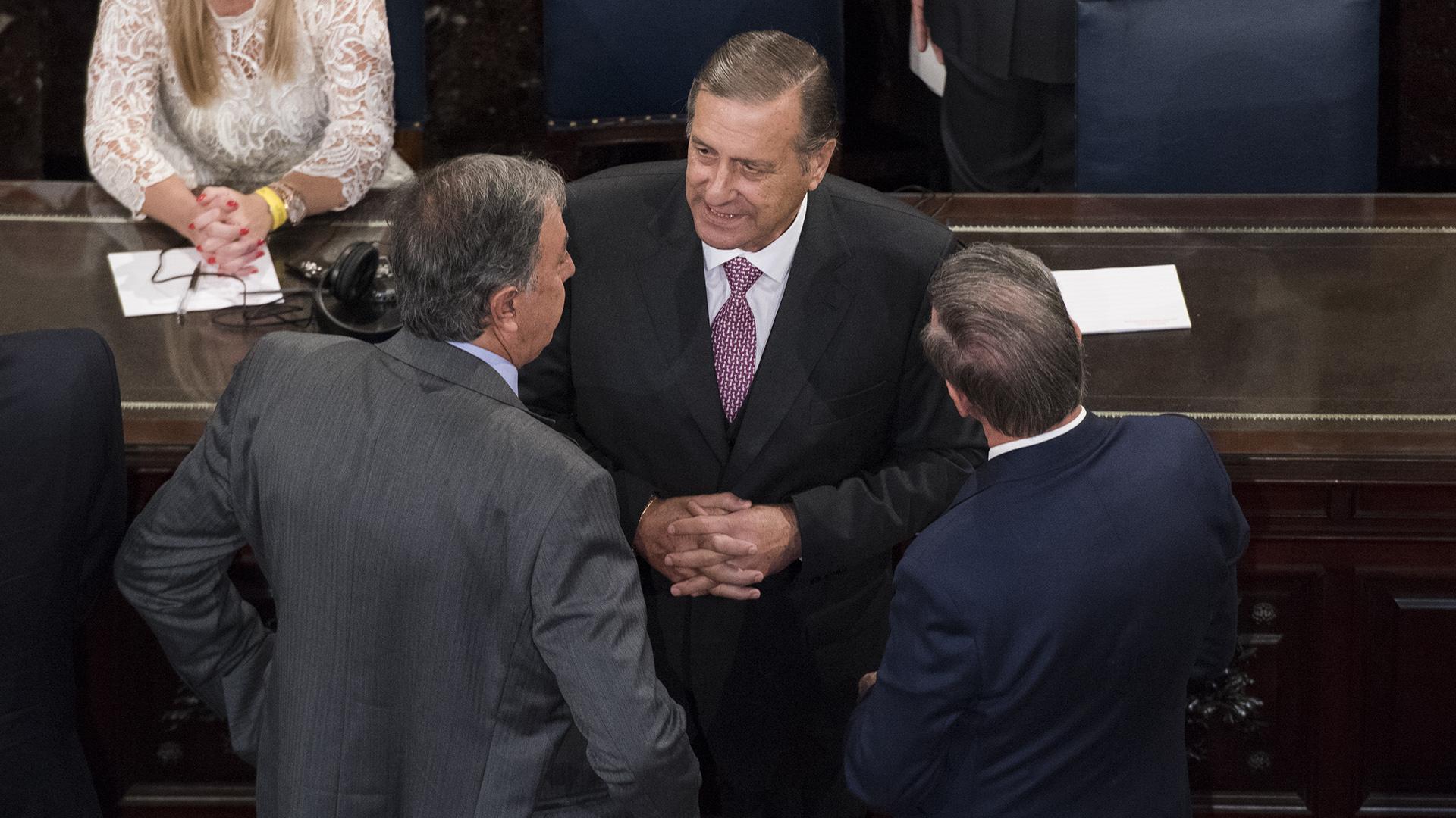 El legislador radical Ángel Rozas