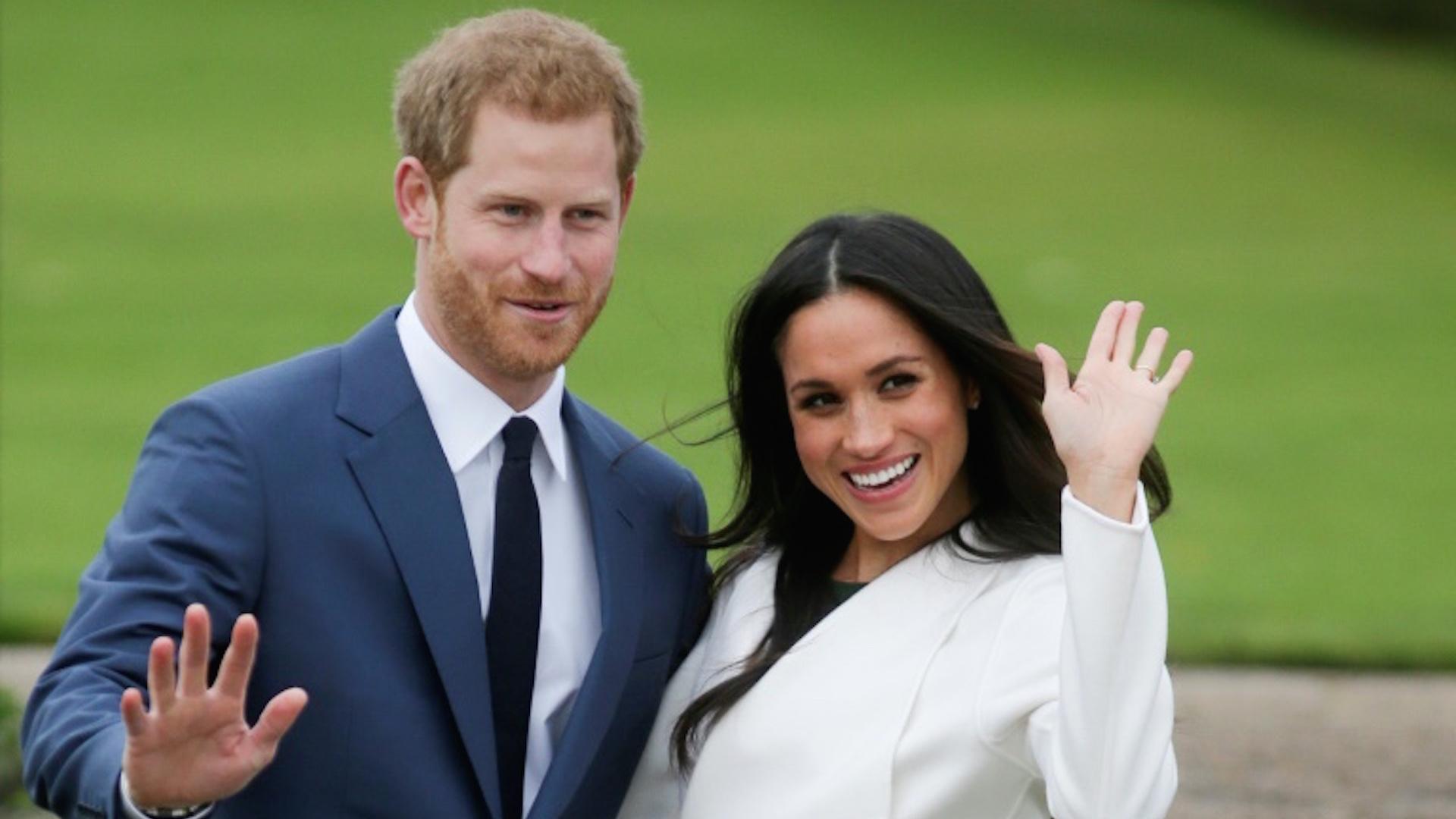 El príncipeHarry y su prometida estadounidense Meghan Markle se casarán en mayo (AFP/Archivos – Daniel LEAL-OLIVAS)
