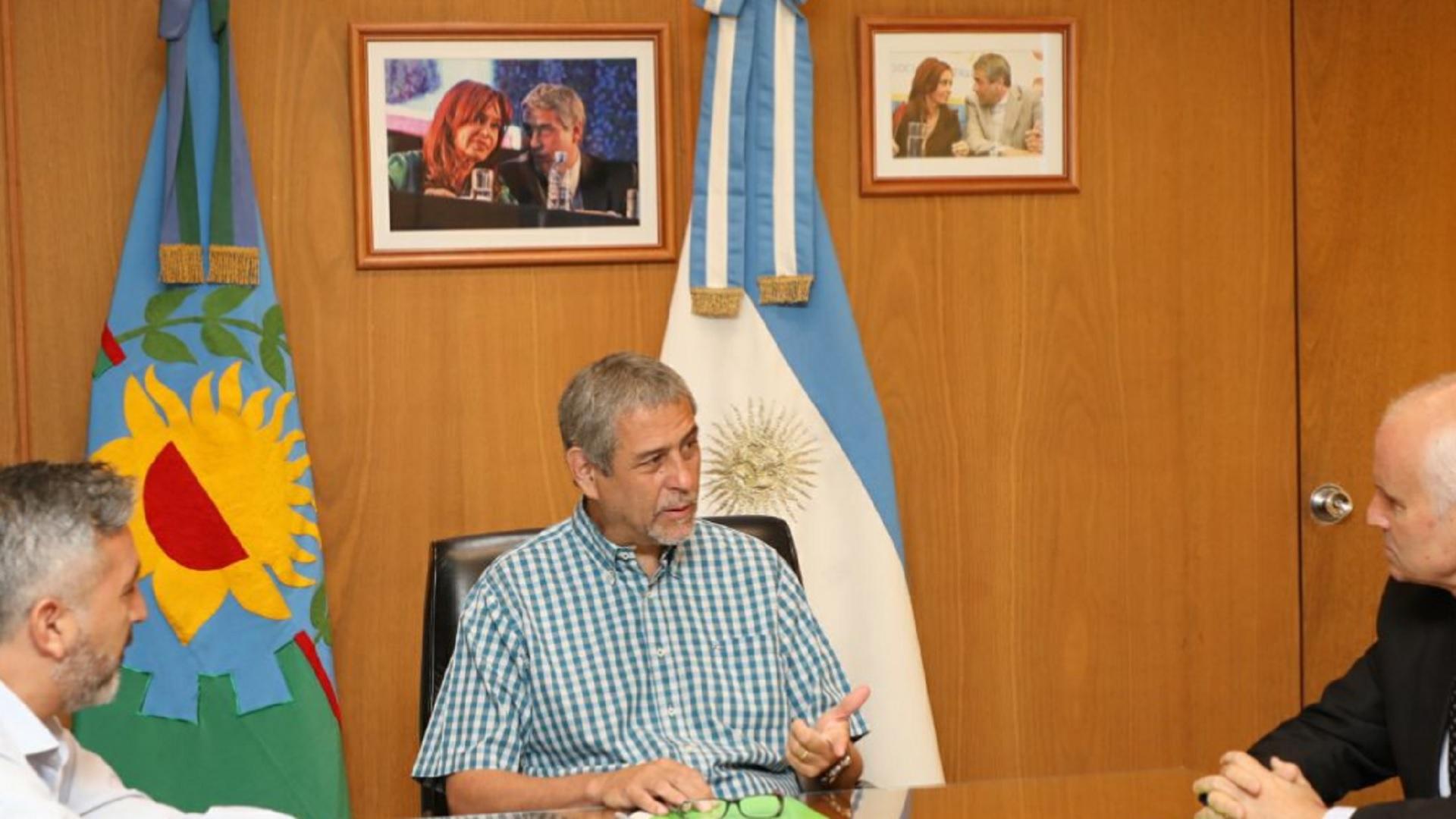 Jorge Ferraresi – intendente de Avellaneda (Twitter)