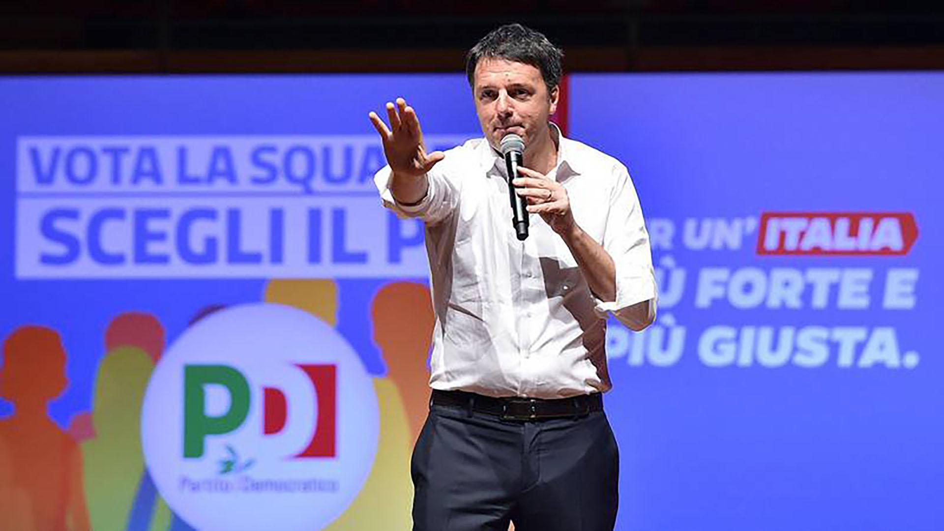 Renzi fue primer ministro de Italia entre 2014 y 2016 (@RNE5continentes)