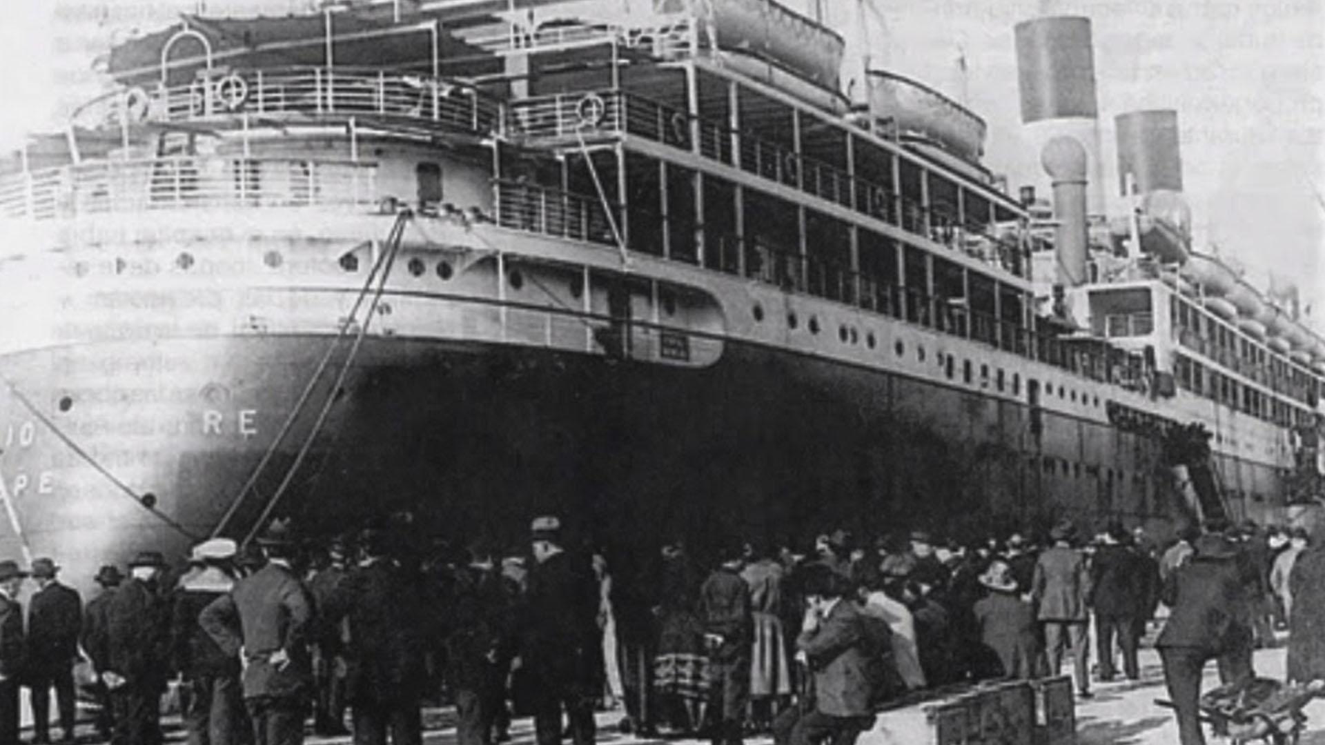La gran inmigración ultramarina proveniente de Europa comenzó alrededor del 1880