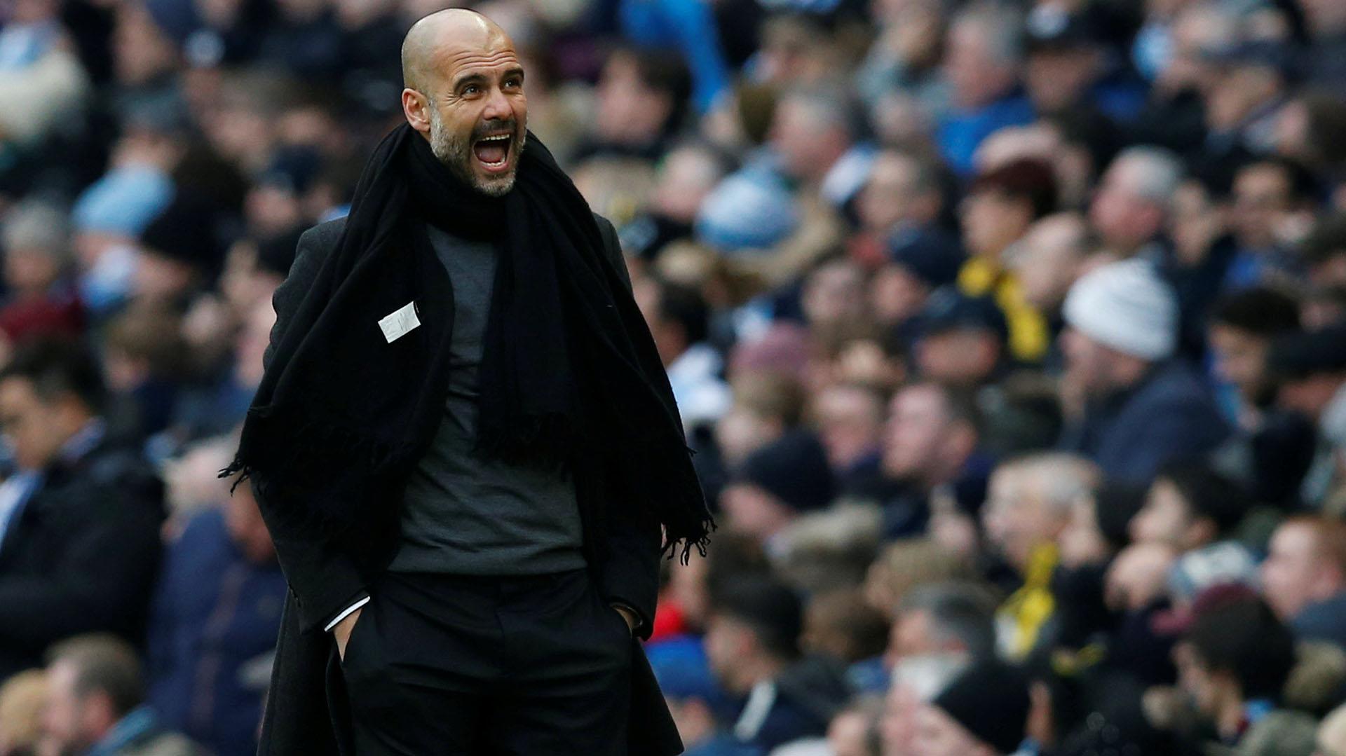 Josep Guardiola, entrenador del Manchester City (REUTERS)