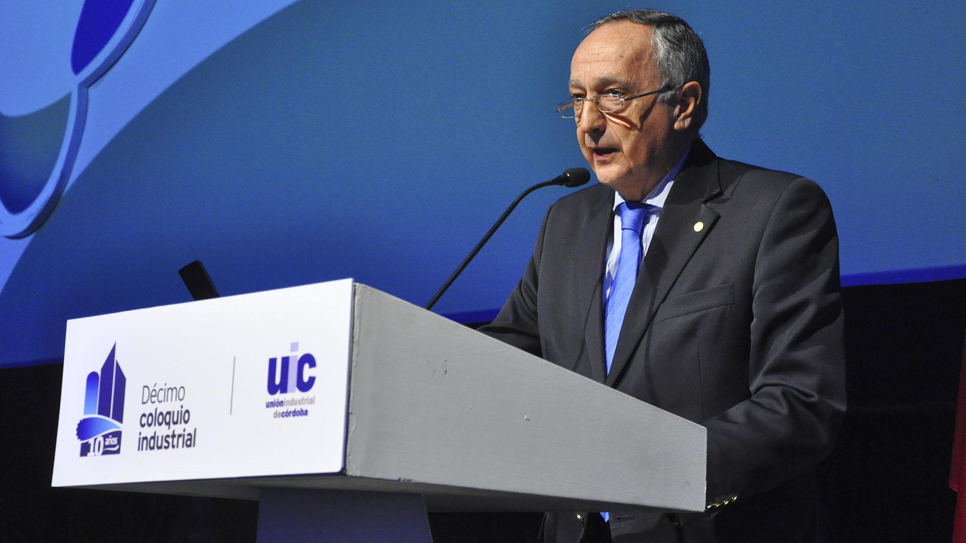 Miguel Acevedo, presidente de la UIA (NA)