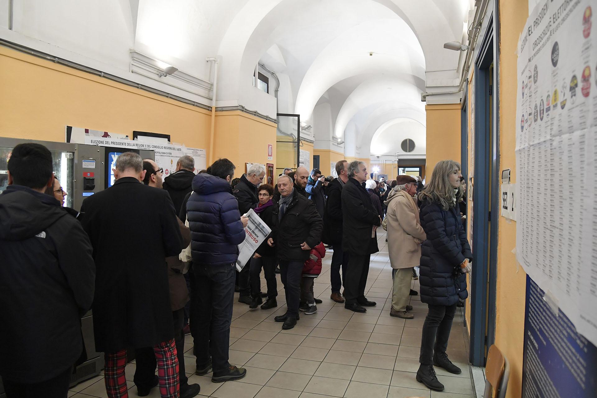 Votación en Italia (AFP)