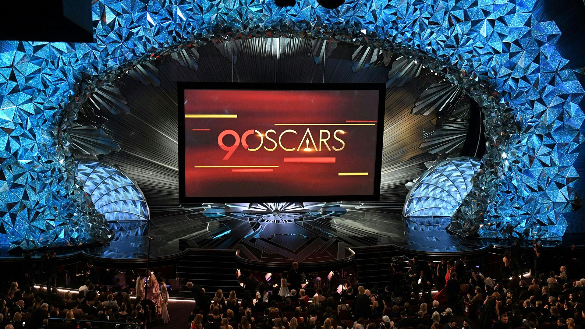 La Academia de Hollywood celebró el 90° Aniversario de los Premios Oscar