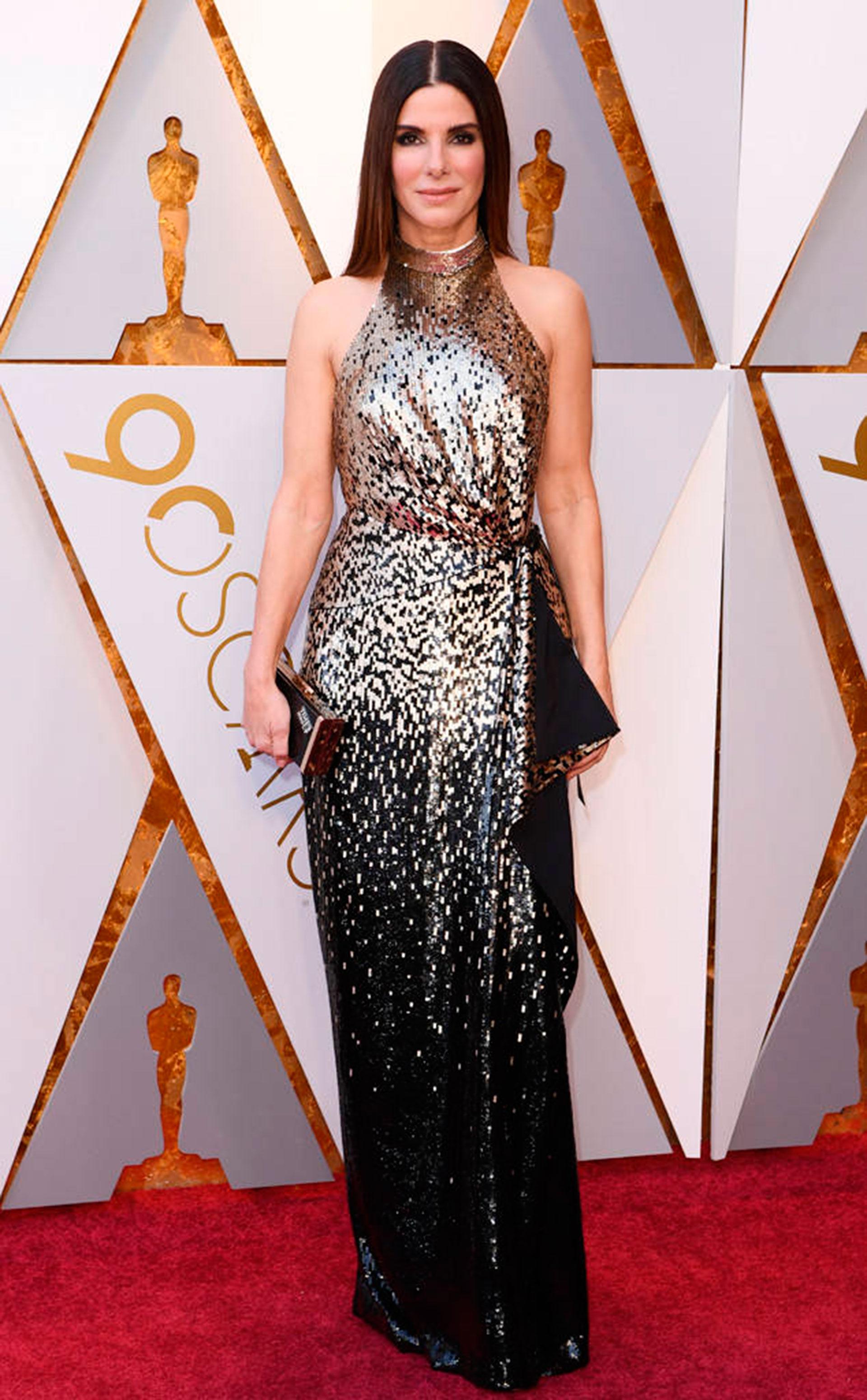 Sandra Bullock by Louis Vuitton (Foto gentileza E!)