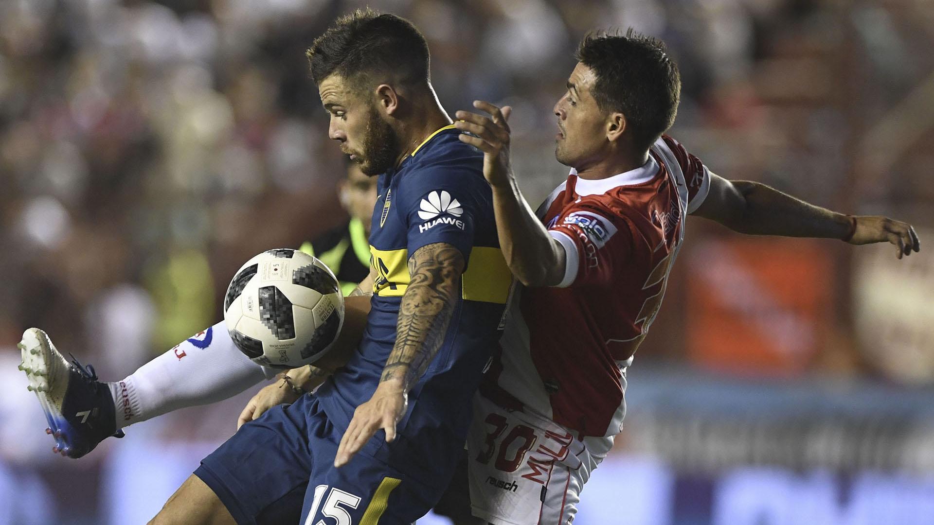 Boca enfrenta a Argentinos en la superliga (Télam)