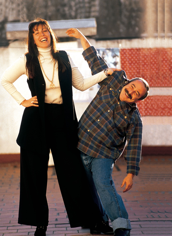 En 1986 conoció a Andrea Stivel en los pasillos de ATC, mientras él trabajaba en La noticia rebelde. Se enamoraron profundamente. (Foto Archivo GENTE)