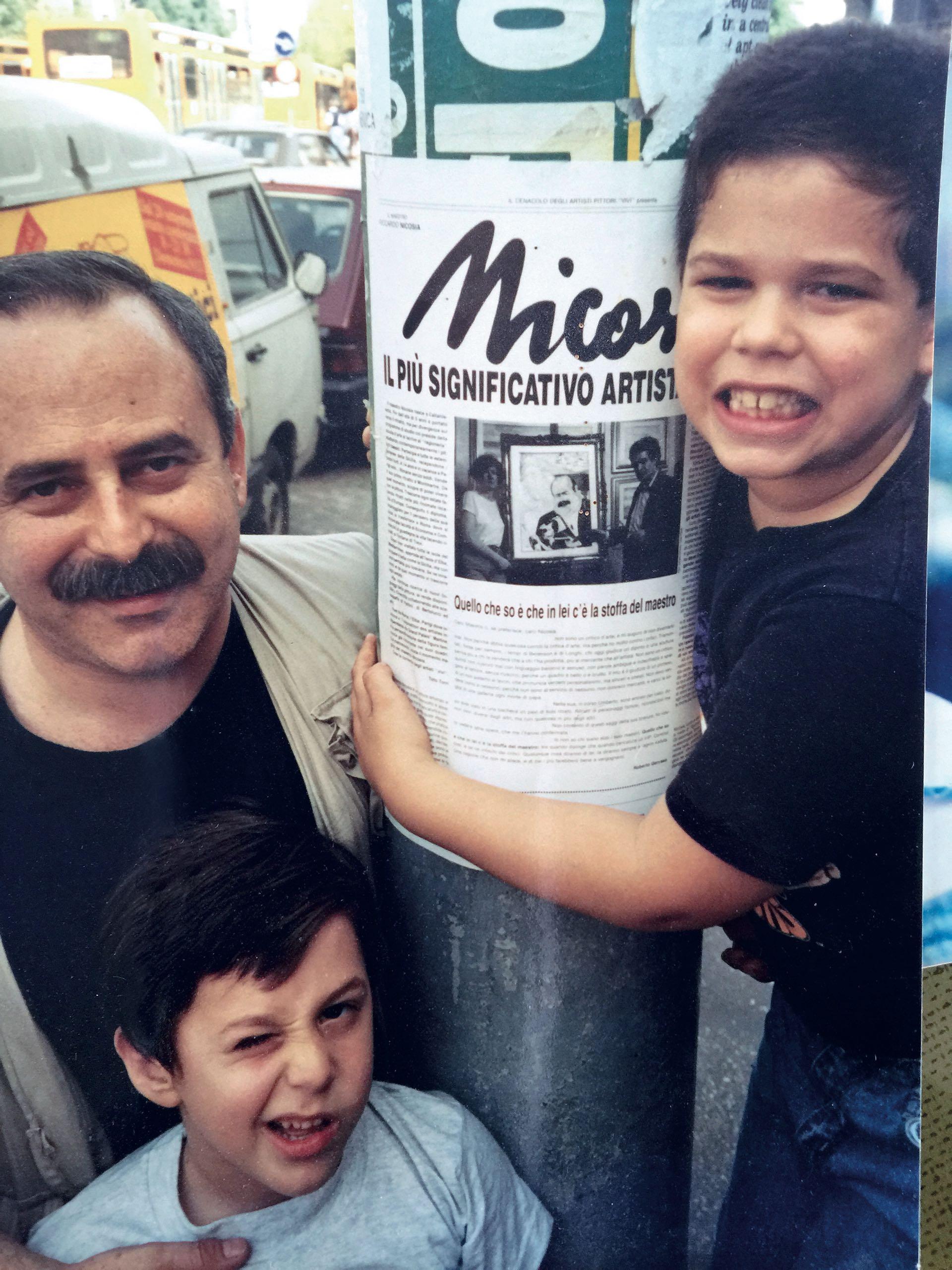 De esa relación nacieron los dos hijos varones de Guinzburg: Sacha (hoy de 30 años) yIan (28).(Foto Archivo GENTE)