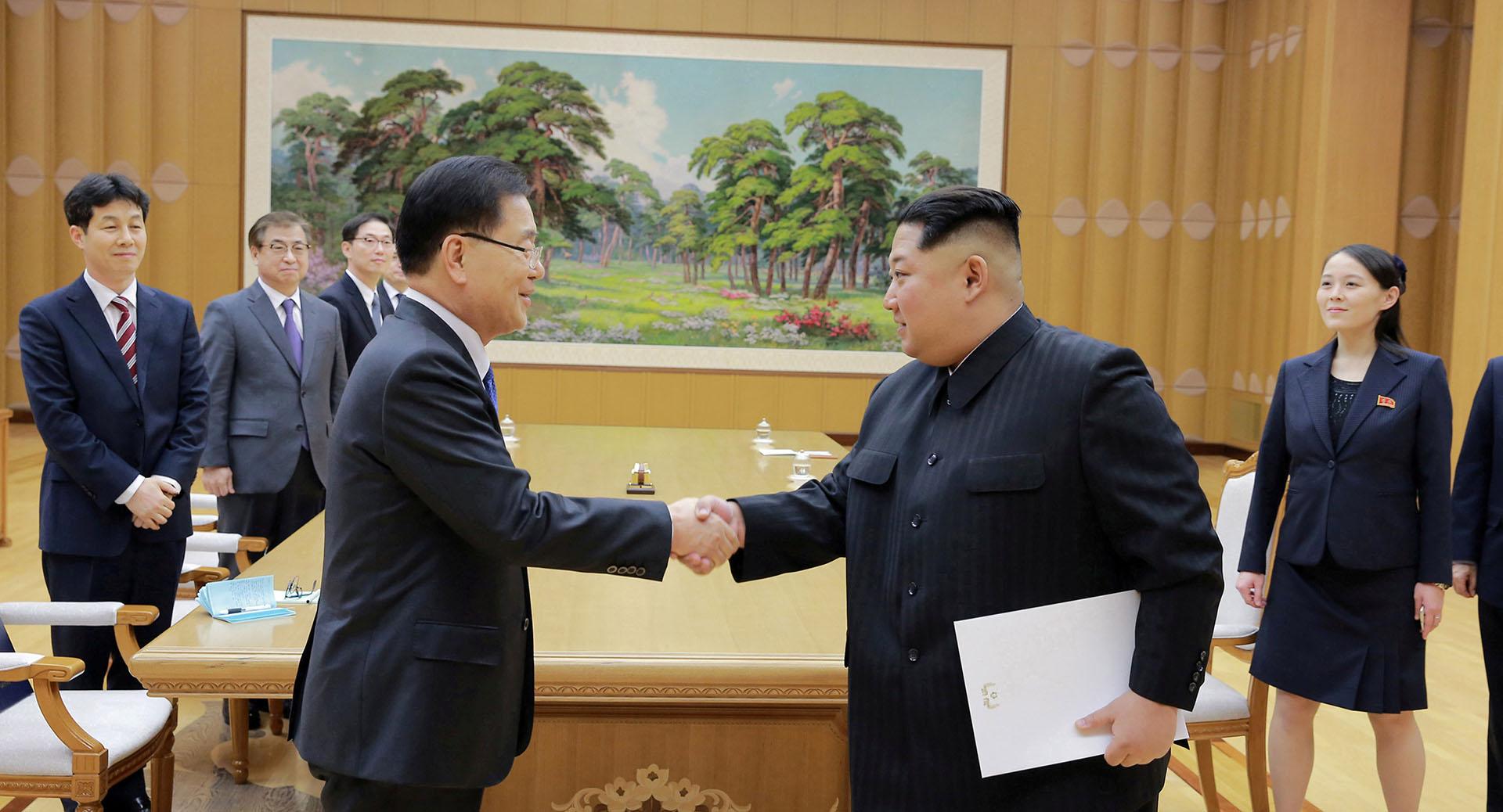"""A la espera de una conferencia de prensa por parte de los enviados, que regresaron este martes a Seúl, un portavoz de Corea del Sur aseguró que la visita """"no había decepcionado"""""""