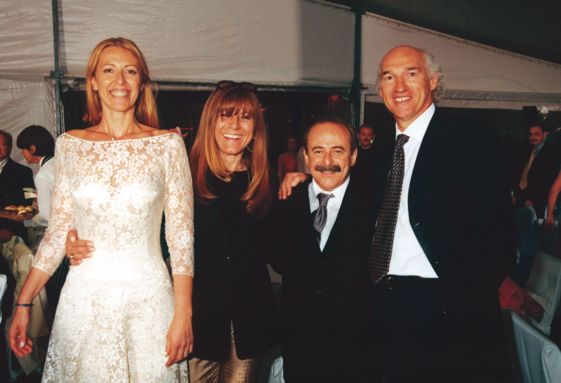 Con Carlos Bianchi, ídolo de su amado Vélez, llegó a tener una fundación para ayudar a chicos en situación de pobreza. (Foto Archivo GENTE)