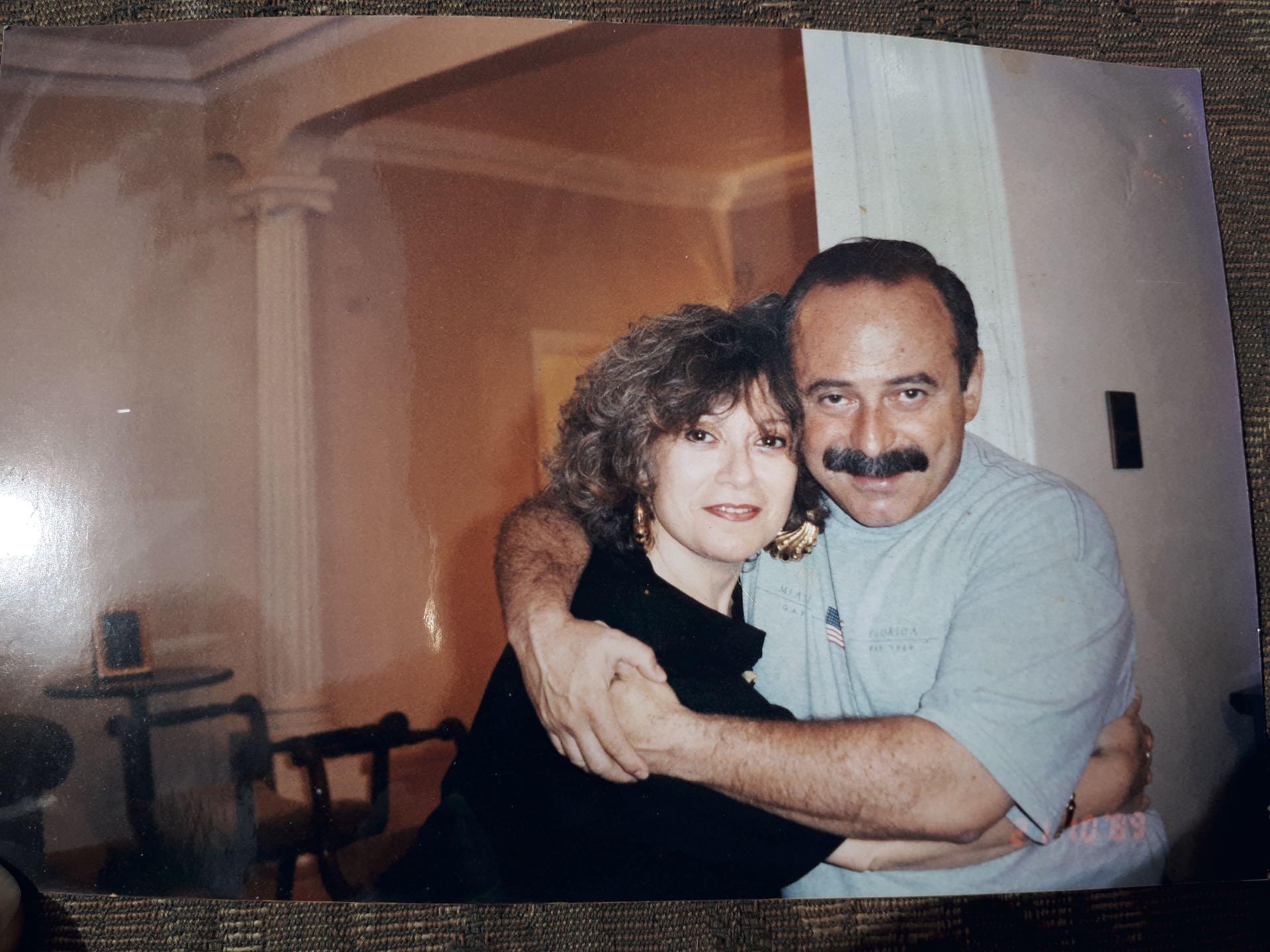 Con su hermana mayor, Mirta, siempre fueron muy cercanos. (Foto Archivo GENTE)