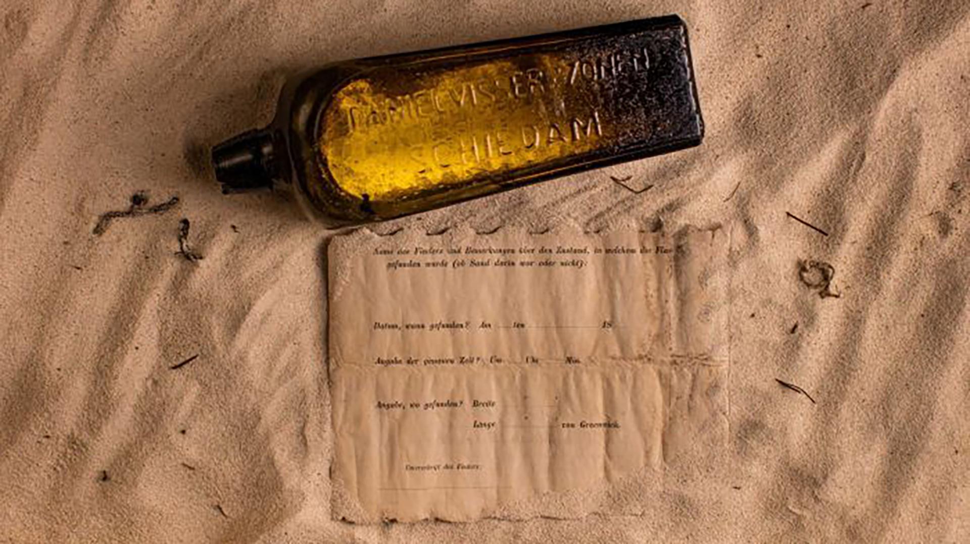 """""""Lo llevamos a casa y cuando lo abrimos (el papel) tenía algo escrito a mano en alemán"""", describió Illman"""