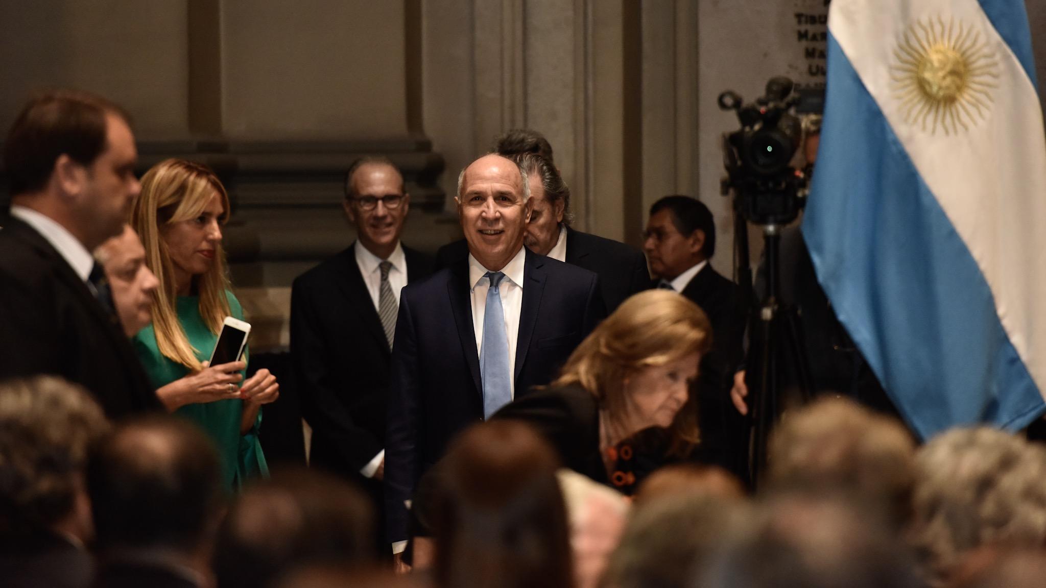 El presidente de la Corte Suprema, Ricardo Lorenzetti, fue el encargado de explicar los lineamientos de la reforma judicial que impulsa el máximo tribunal