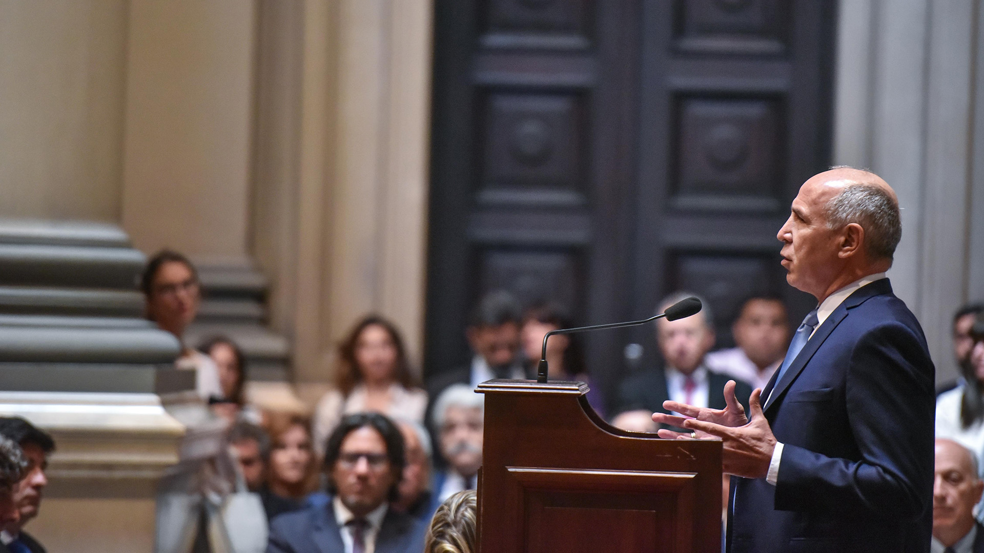 """""""Mientras la ciudadanía nos pide más seguridad, nosotros seguimos con las discusiones y no brindamos soluciones"""", planteó Ricardo Lorenzetti"""
