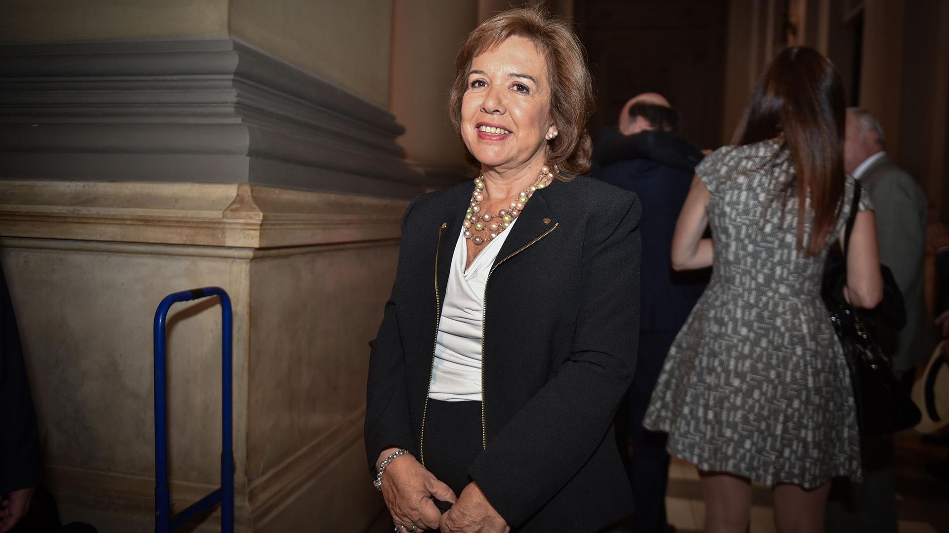 María Lilia Gómez Alonso de Díaz Cordero, presidente de la Asociación de Magistrados y Funcionarios de la Justicia Nacional