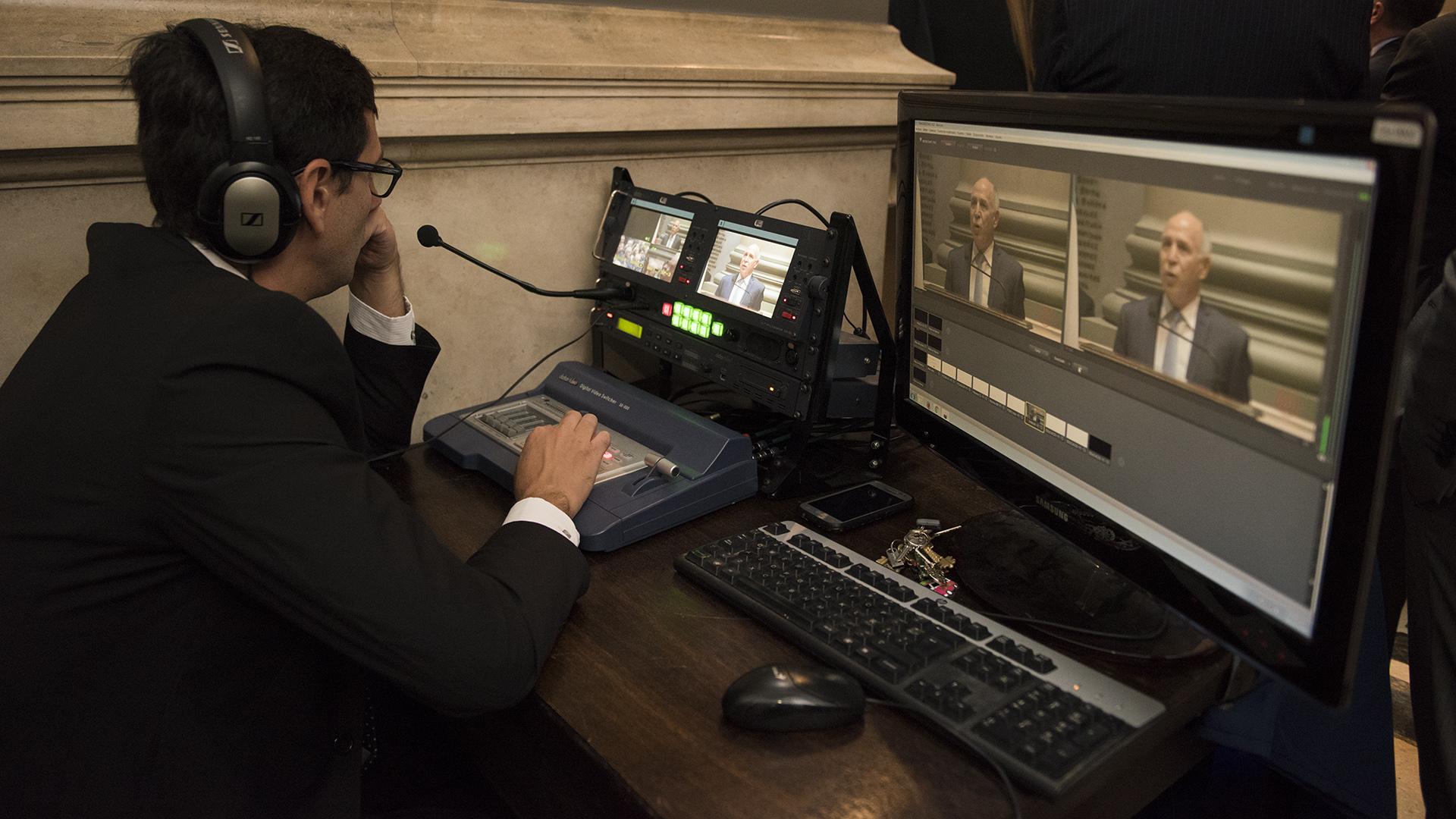 El Centro de Información Judicial (CIJ) transmitió en vivo el discurso de Ricardo Lorenzetti