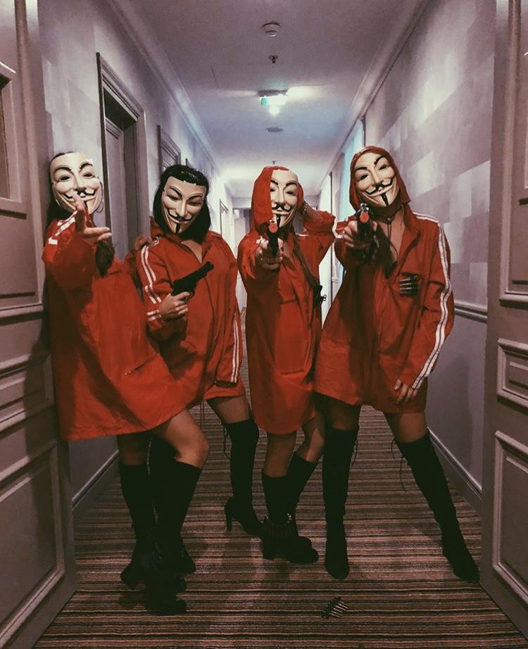 Estas 4 diosas recorrieron los pasillos del hotel