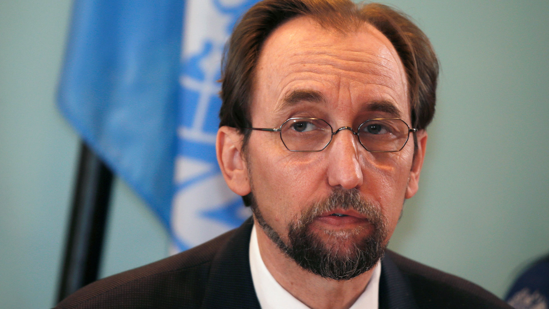 Zeid Ra to Hussein, UN High Commissioner for Human Rights until September 2018 (Reuters)