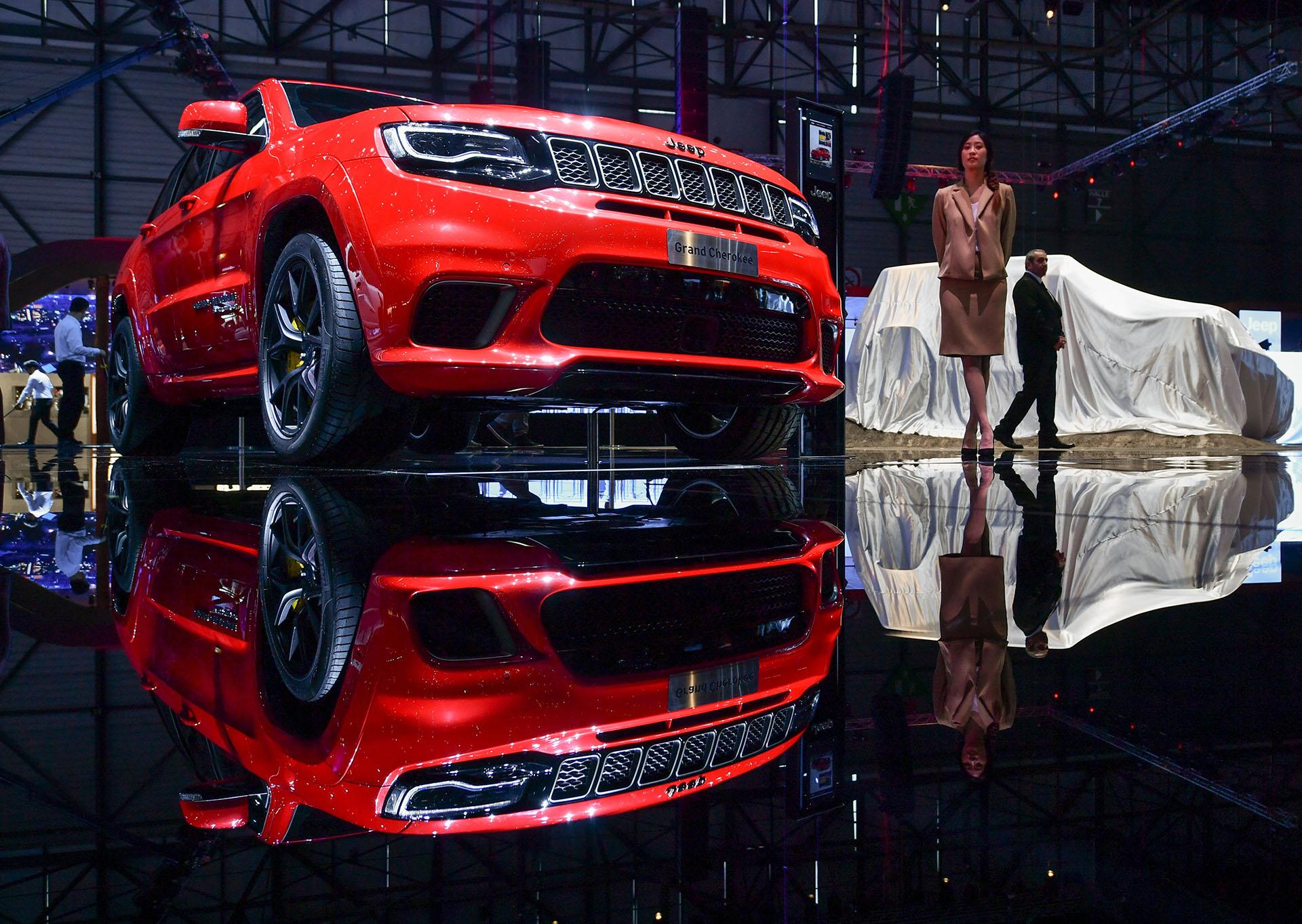 Jeep se presentó en Ginebra con los nuevos Wrangler y Cherokee, estrenos absolutos en el continente europeo