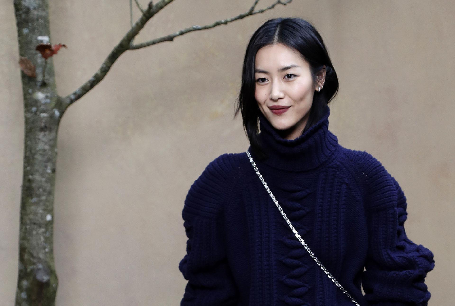 La modelo topLiu Wen fanática de la firma francesa