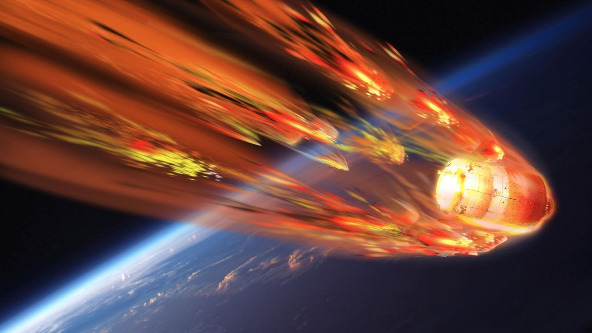 La estación espacial china se desintegrará casi totalmente en la atmósfera terrestre