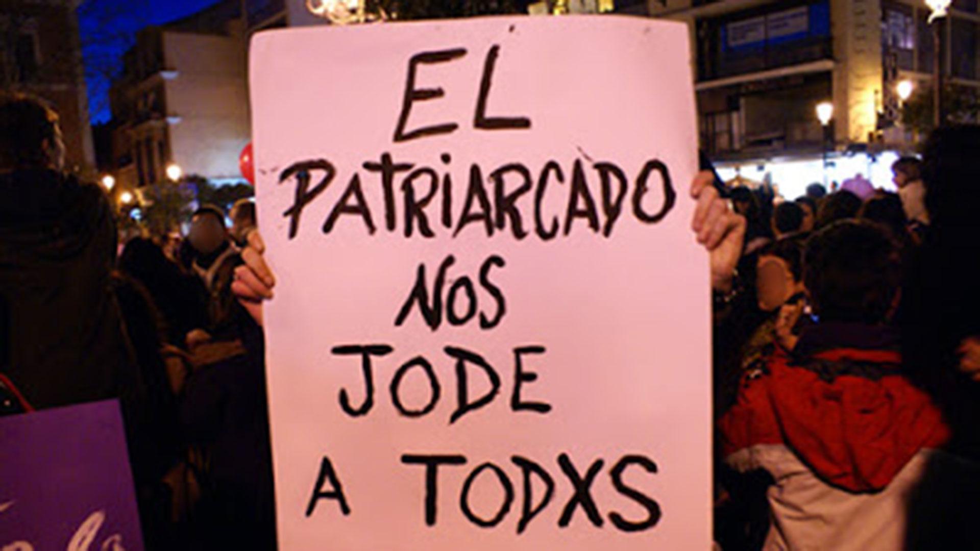 """""""El patriarcado nos jode a todxs"""""""