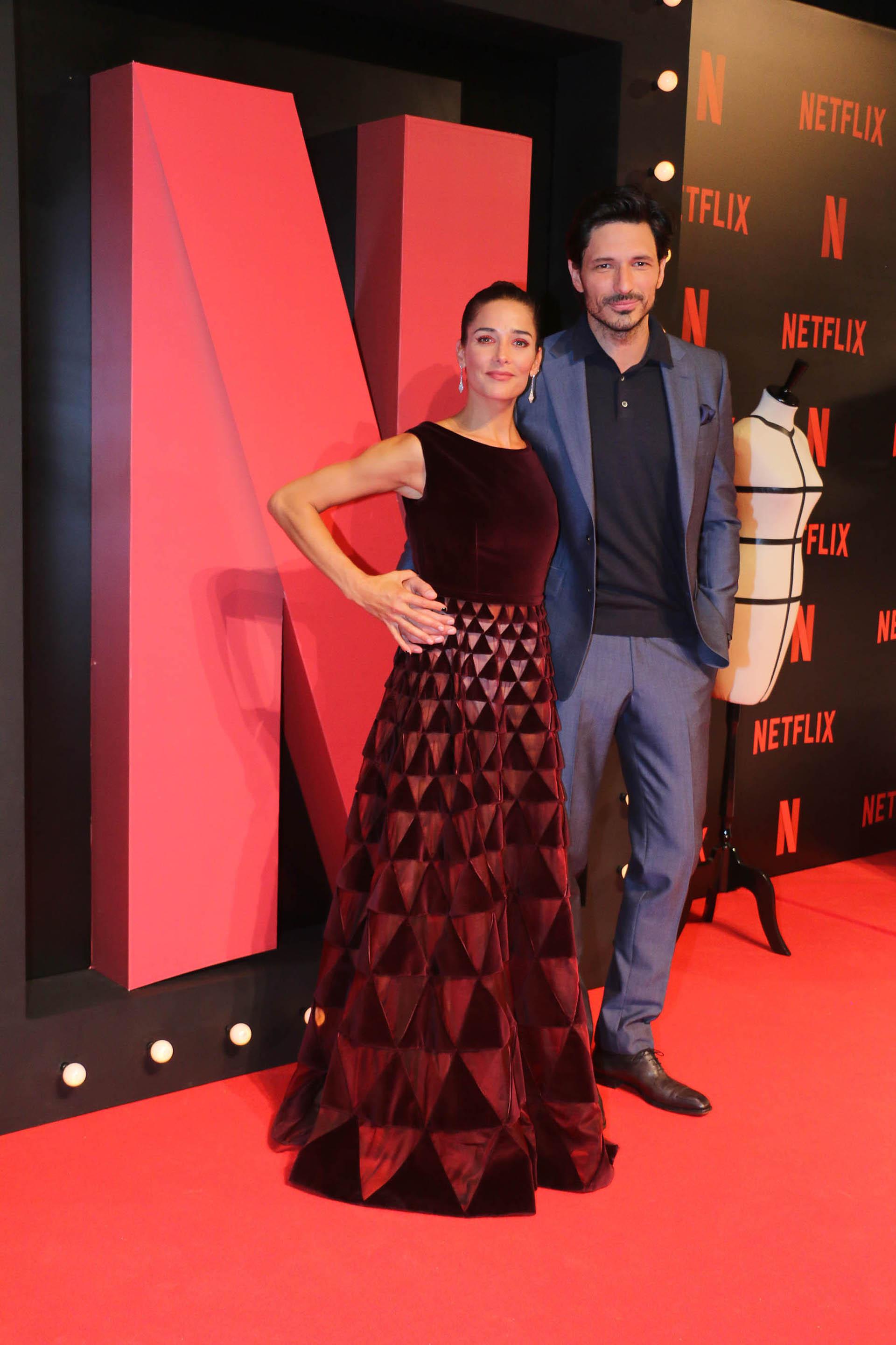Juana Viale y Andrés Velencoso