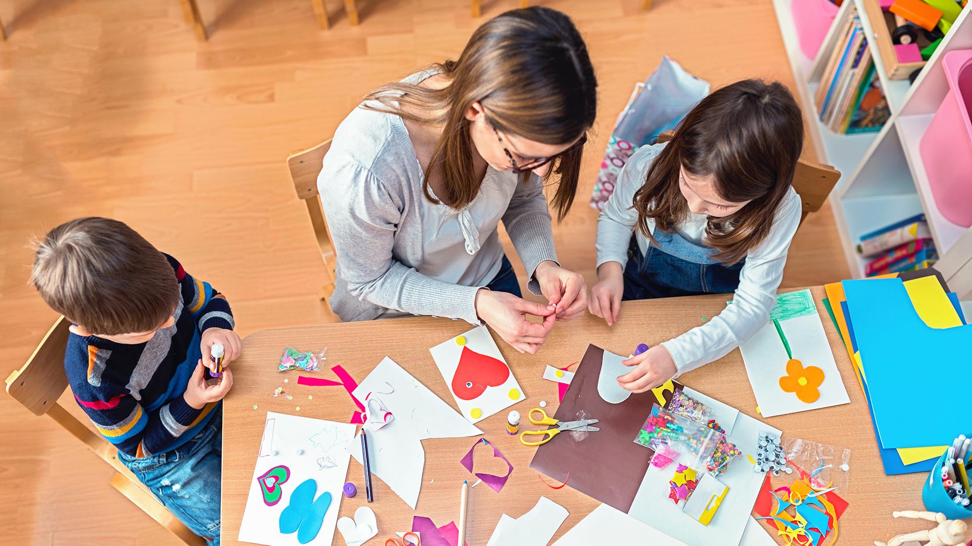 La idea es propiciar la creatividad en las escuelas (Getty)