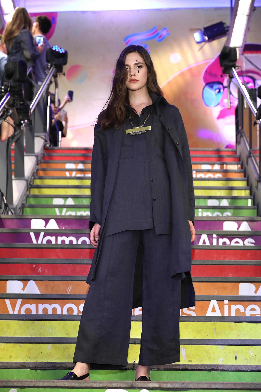La colección de Belén Amigofue una de las ganadoras dentro de la caregoría 'diseñadores consagrados' , para participar del desfile