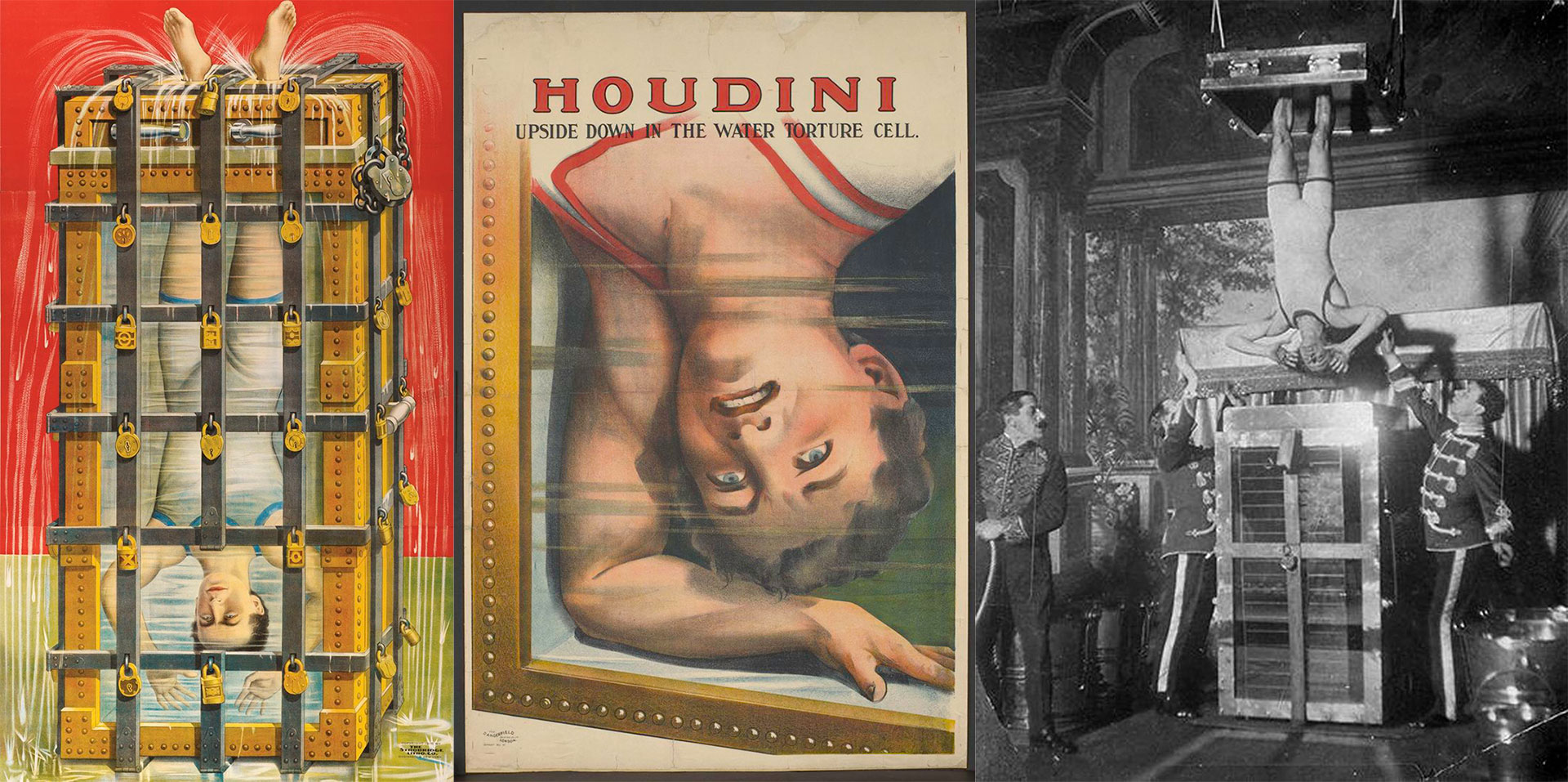 Houdini celda china