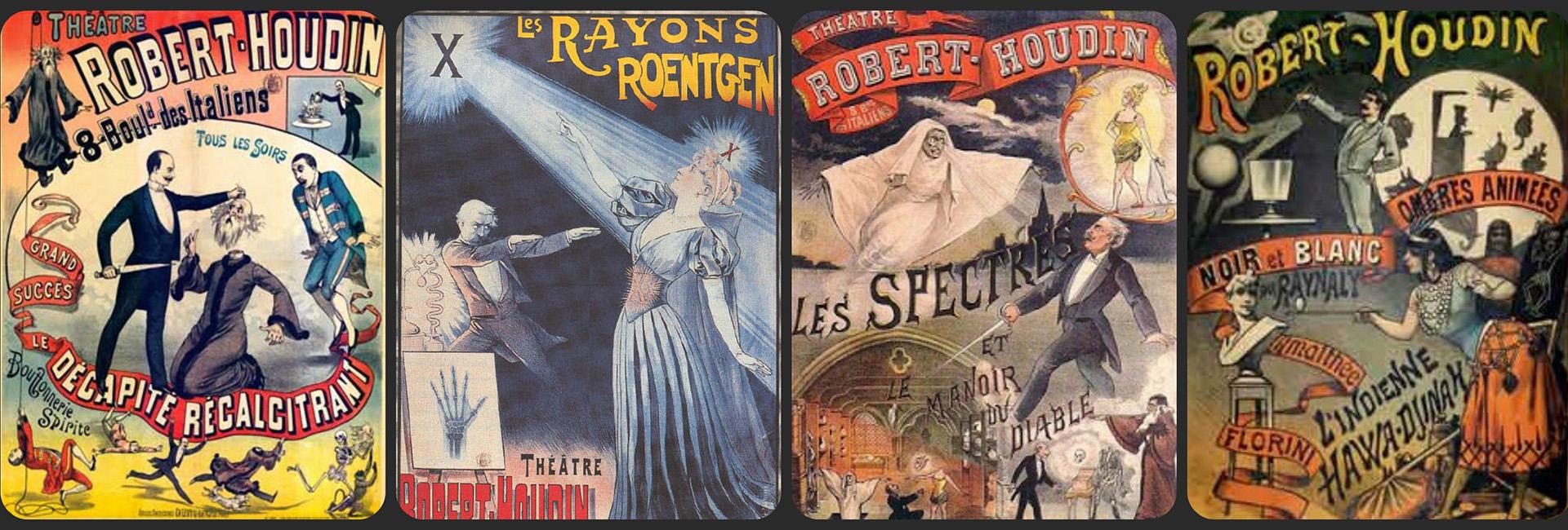 Afiches del padre de la magia moderna, Robert-Houdin