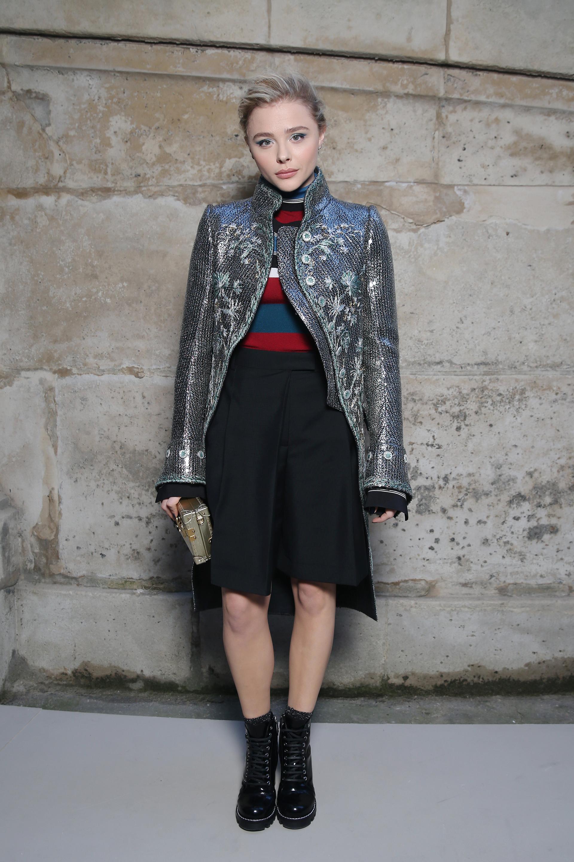 Chloe Moretz, la actriz deNovember Criminals entre las más distinguidas del evento fashionista